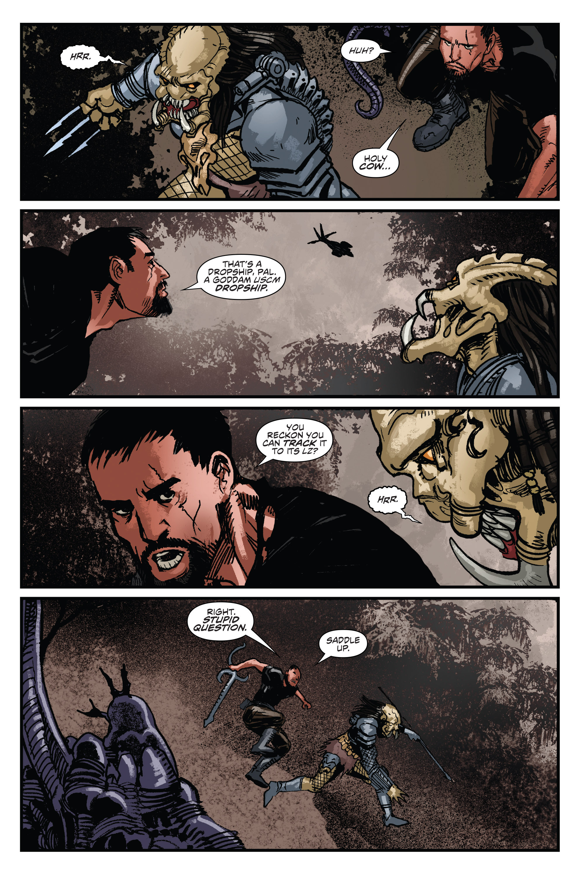 Read online Aliens: Life And Death comic -  Issue #2 - 18