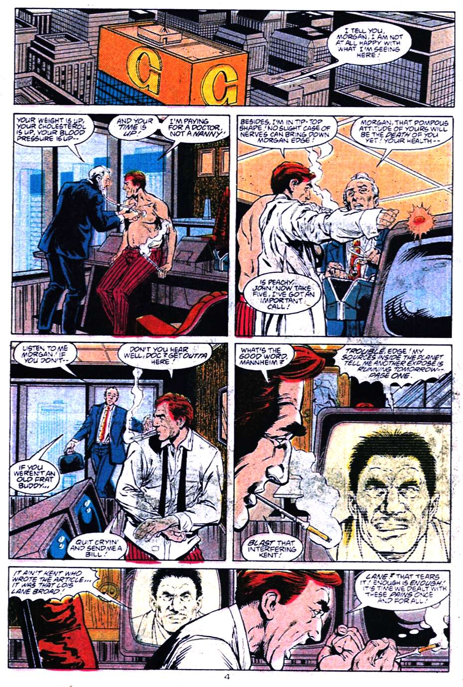 Read online Adventures of Superman (1987) comic -  Issue #456 - 4