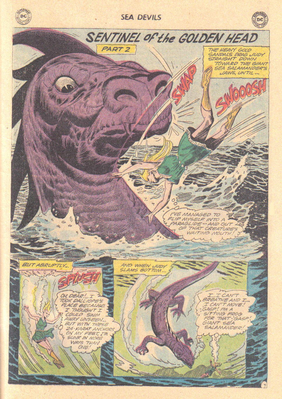 Read online Sea Devils comic -  Issue #16 - 25