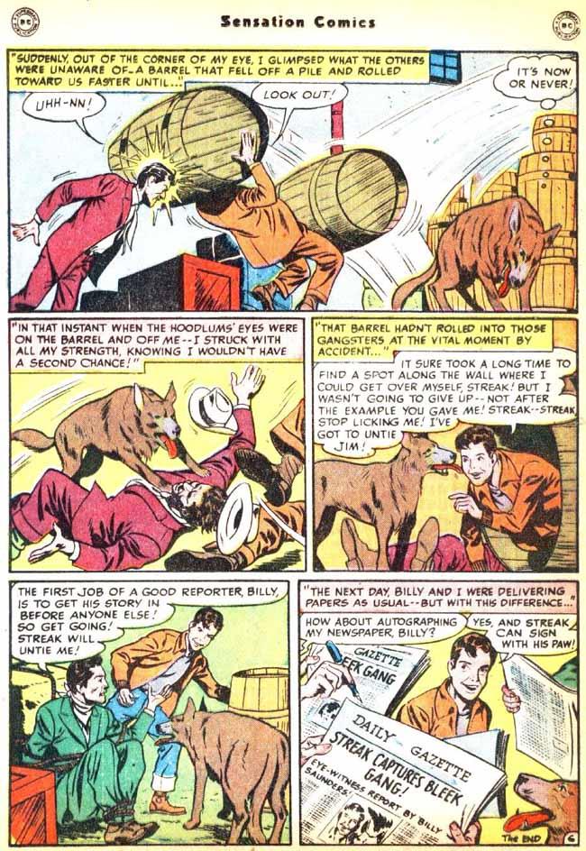 Read online Sensation (Mystery) Comics comic -  Issue #92 - 22