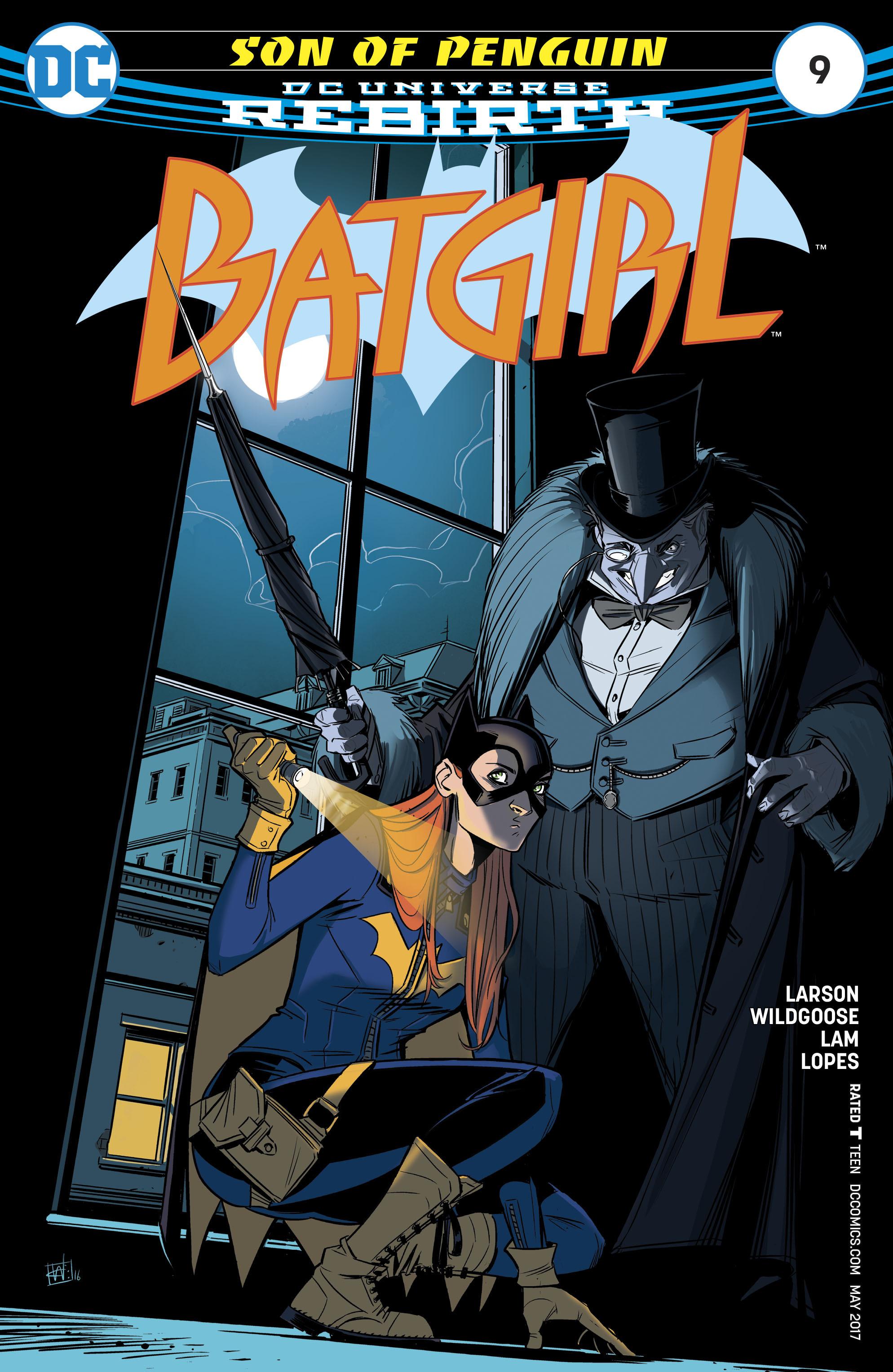 Batgirl (2016) 9 Page 1