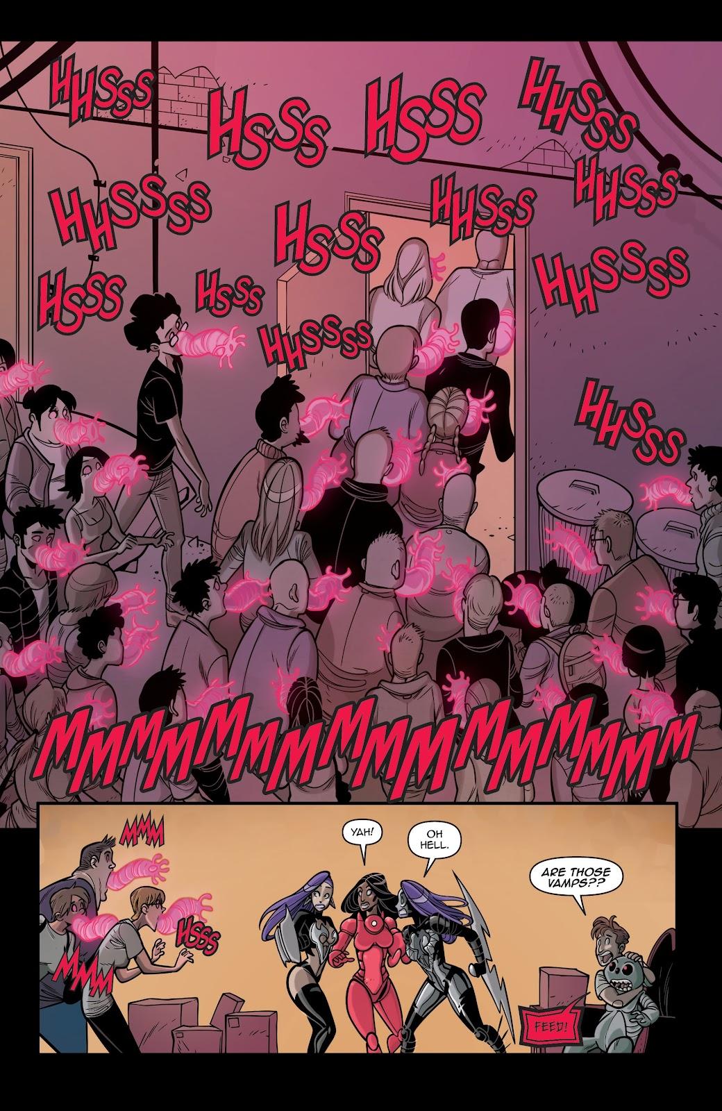 Read online Vampblade Season 3 comic -  Issue #12 - 8