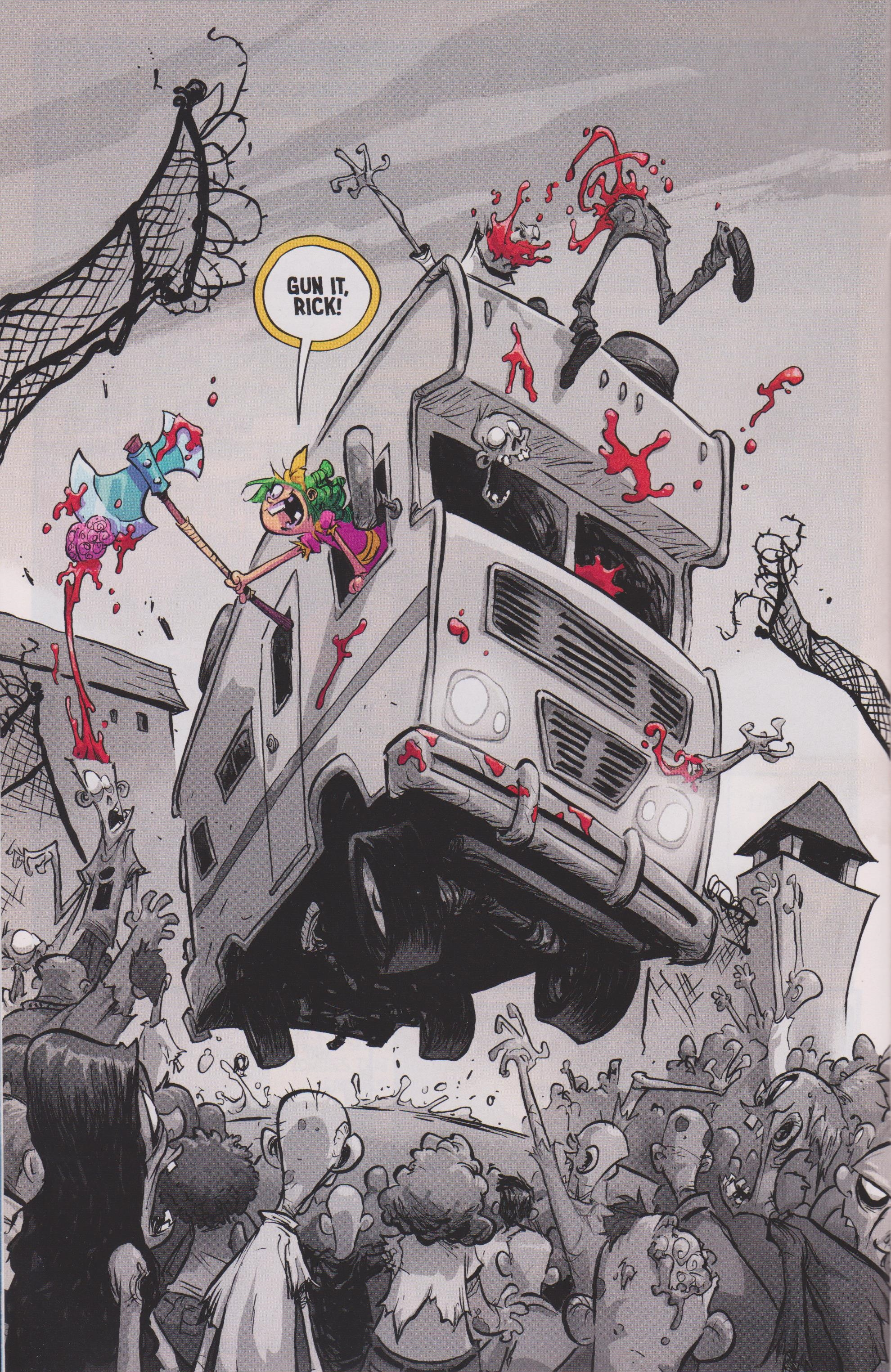 Read online Free Comic Book Day 2017 comic -  Issue # I Hate Image - 8
