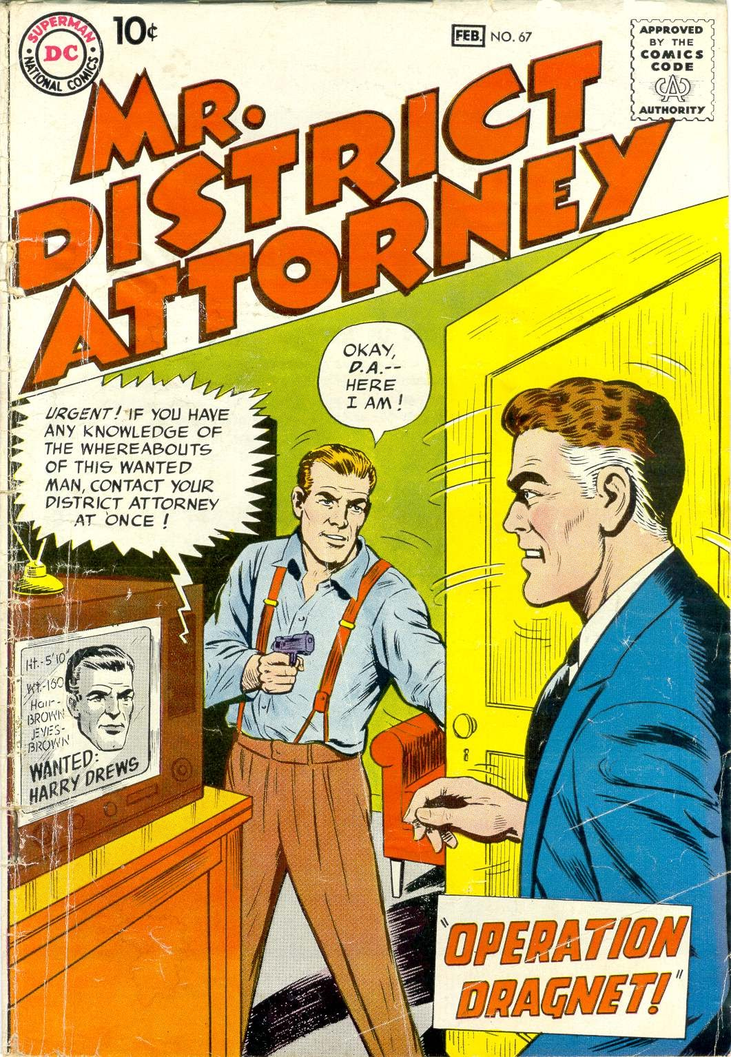 Mr. District Attorney issue 67 - Page 1