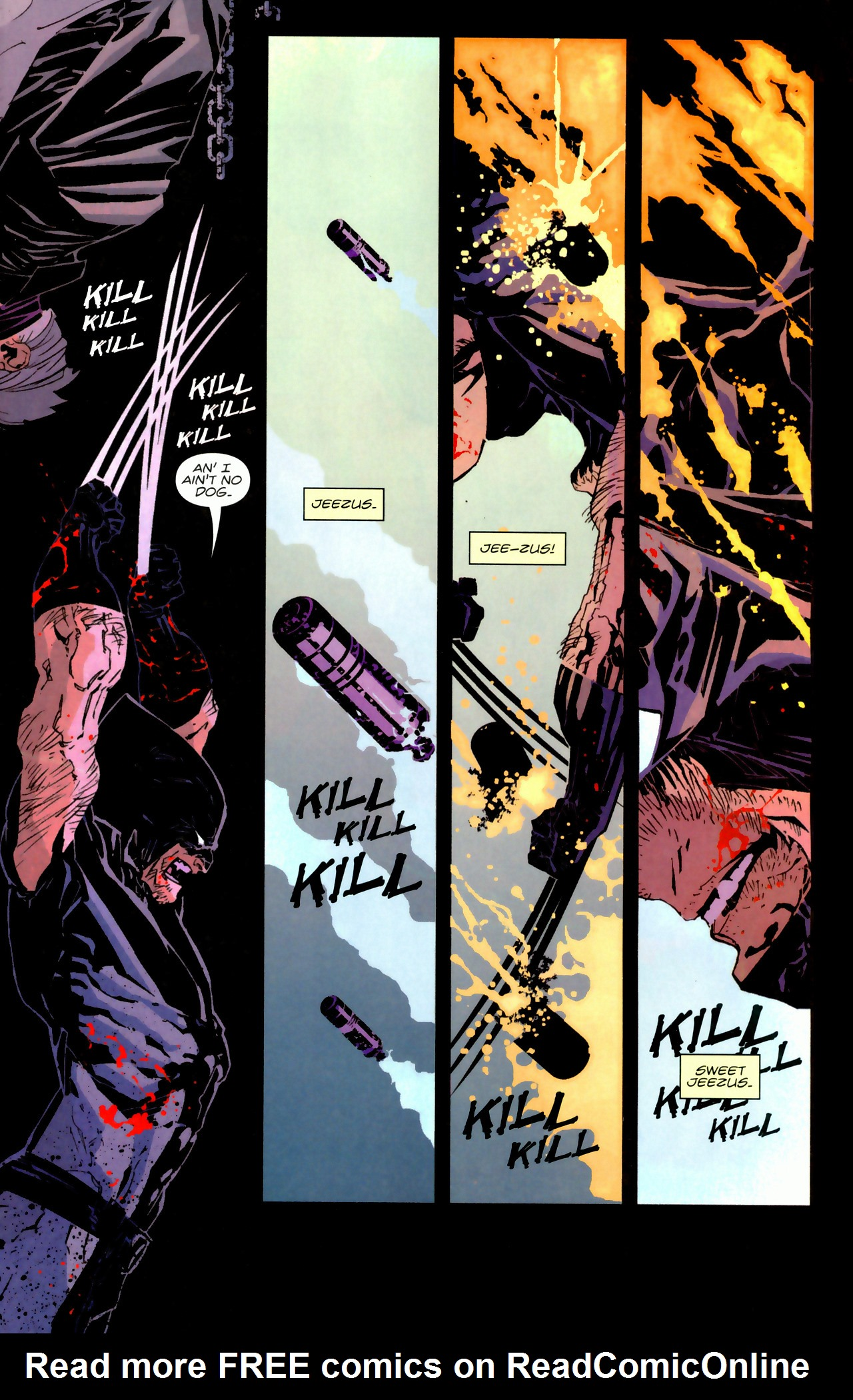 Read online X-Force Special: Ain't No Dog comic -  Issue # Full - 14