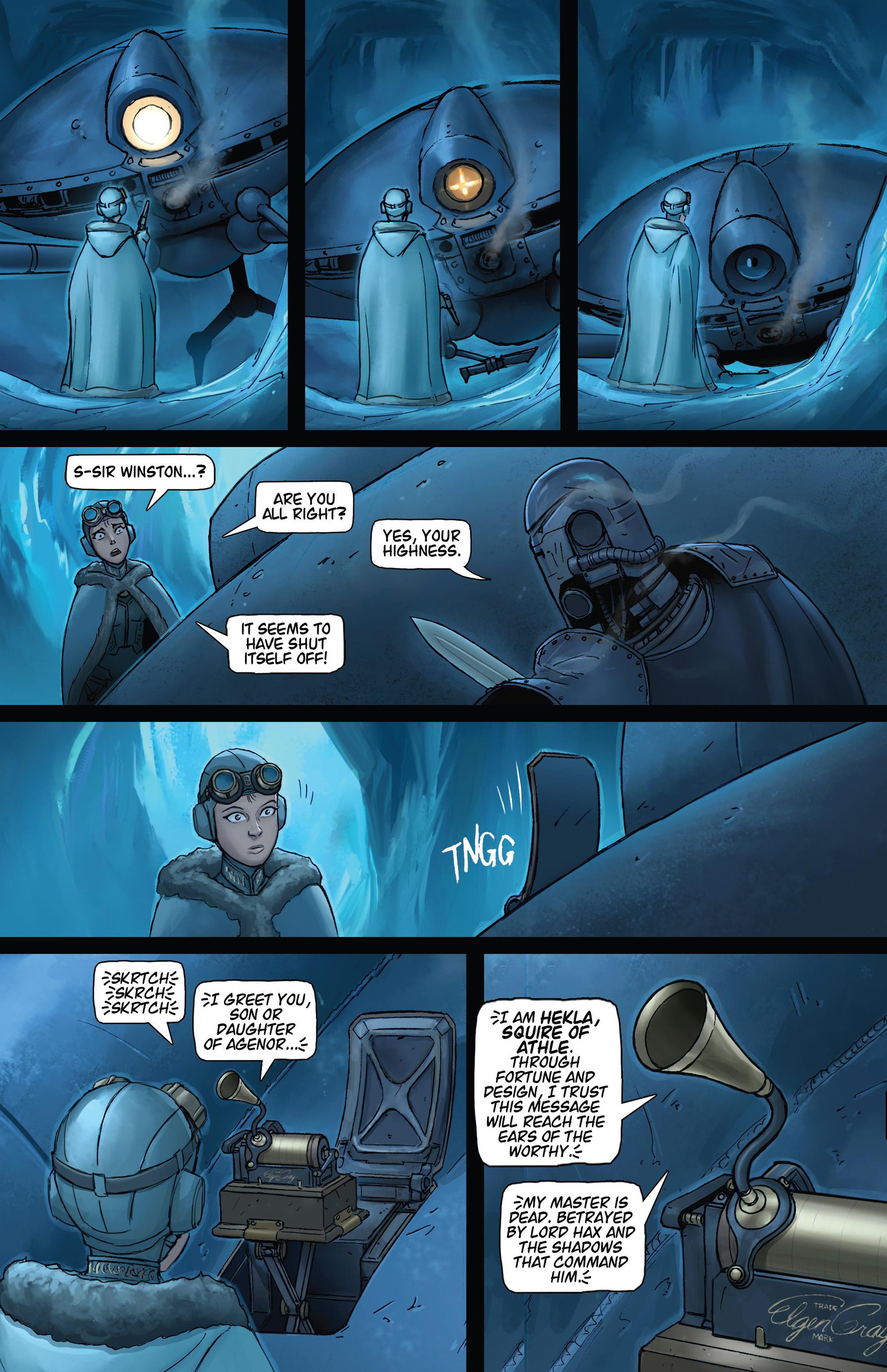 Read online Steam Wars: First Empire comic -  Issue #4 - 15