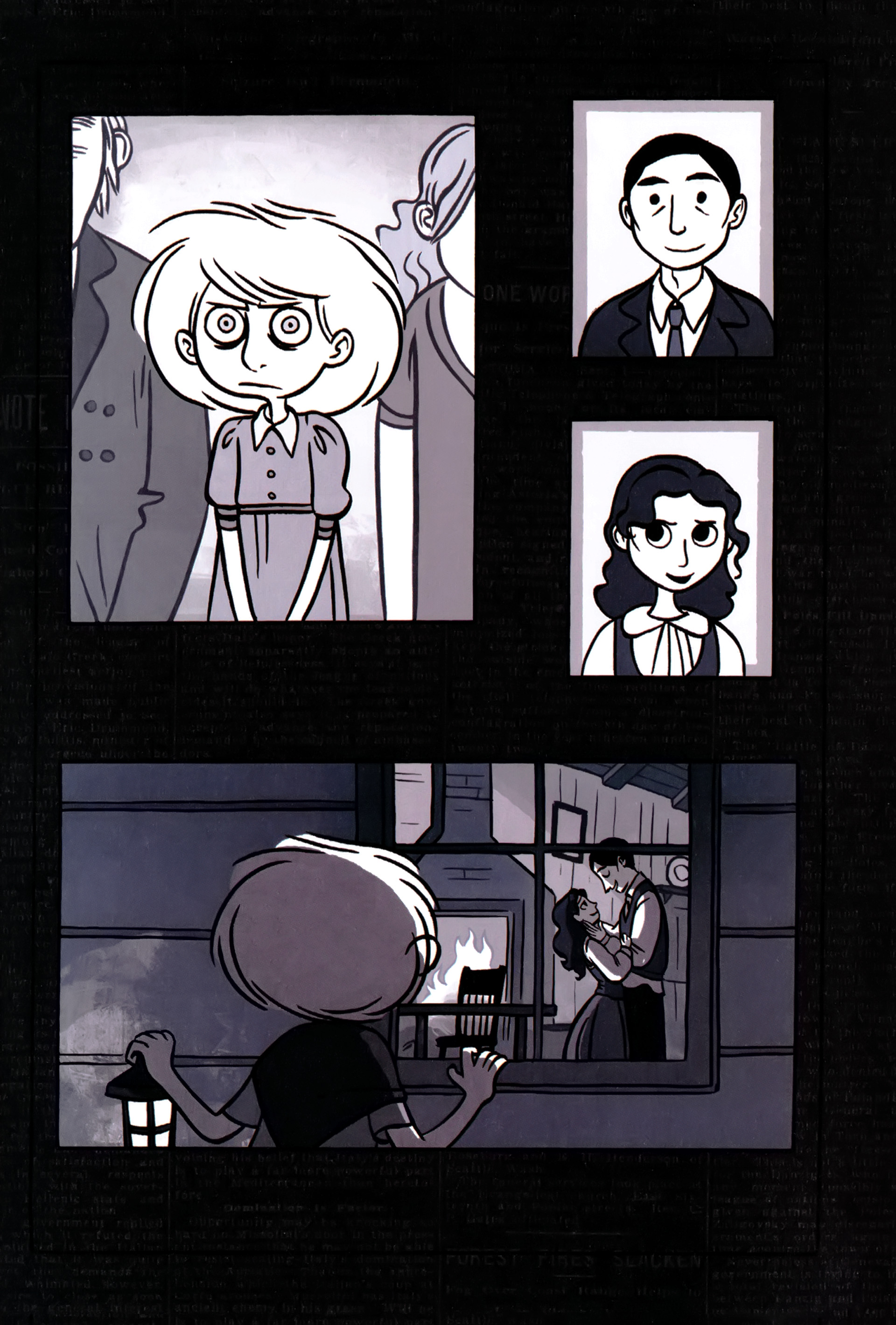 Read online Anya's Ghost comic -  Issue #1 - 155