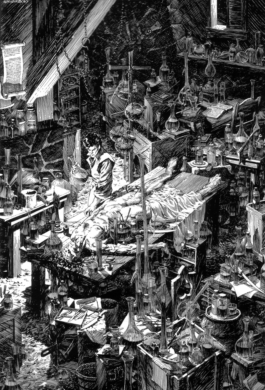 Read online Bernie Wrightson's Frankenstein comic -  Issue # Full - 34