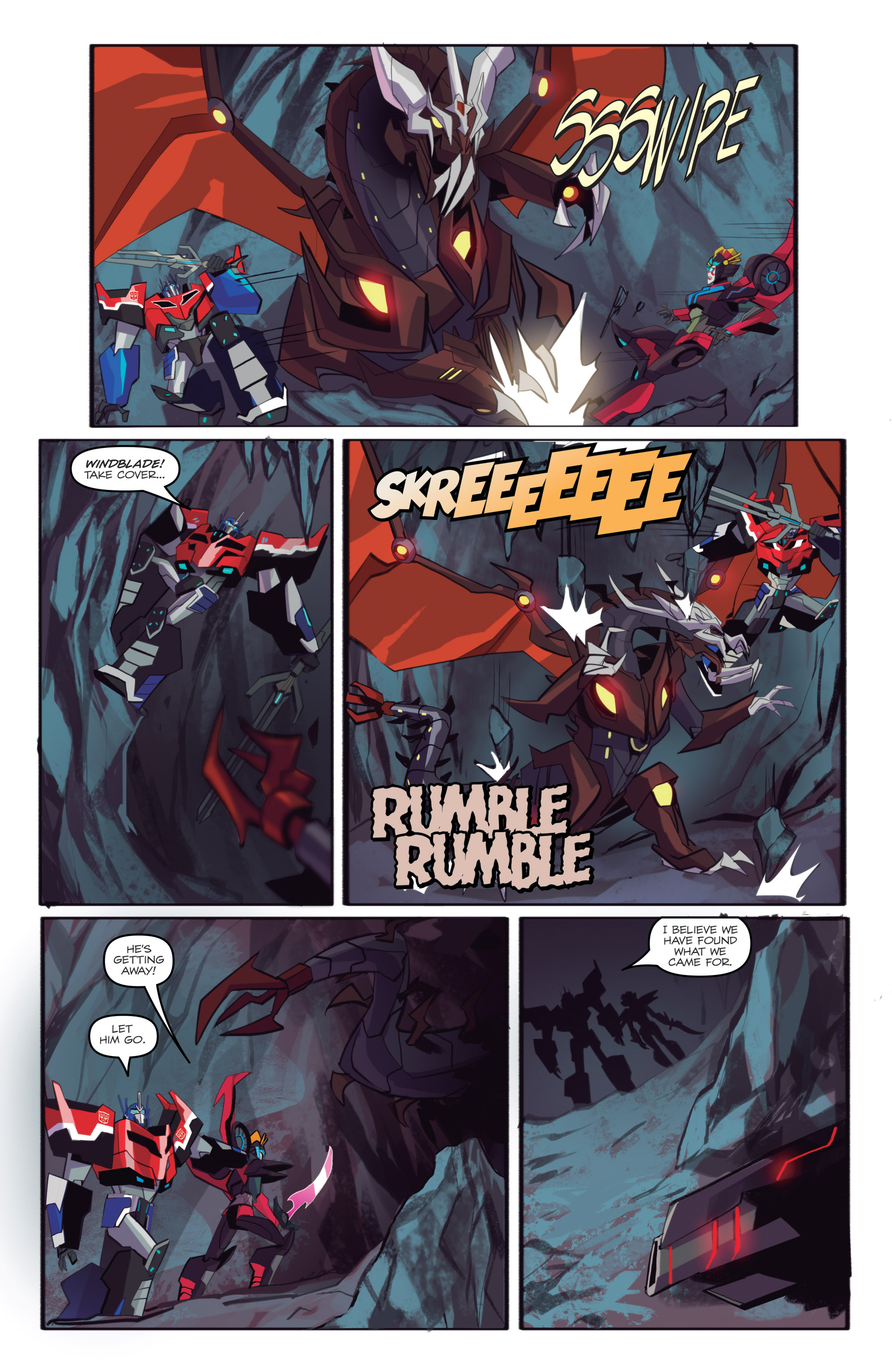 Read online Transformers: Robots In Disguise (2015) comic -  Issue #6 - 7