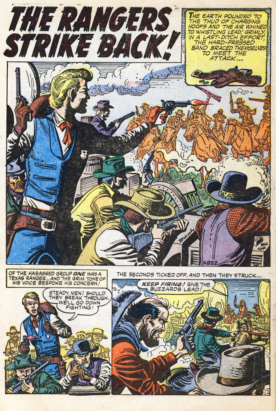 Gunsmoke Western issue 38 - Page 10