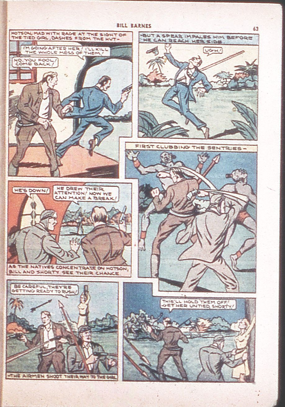 Read online Shadow Comics comic -  Issue #6 - 65