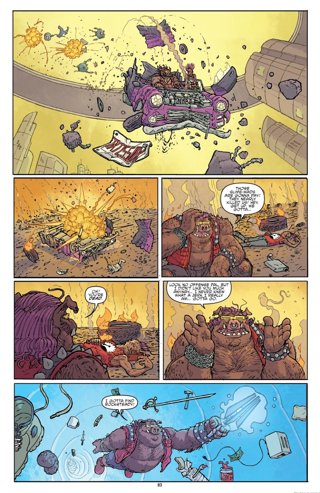 Read online Teenage Mutant Ninja Turtles: The IDW Collection comic -  Issue # TPB 8 (Part 1) - 82