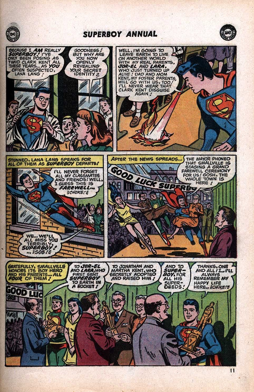 Superboy (1949) issue Annual 1 - Page 13