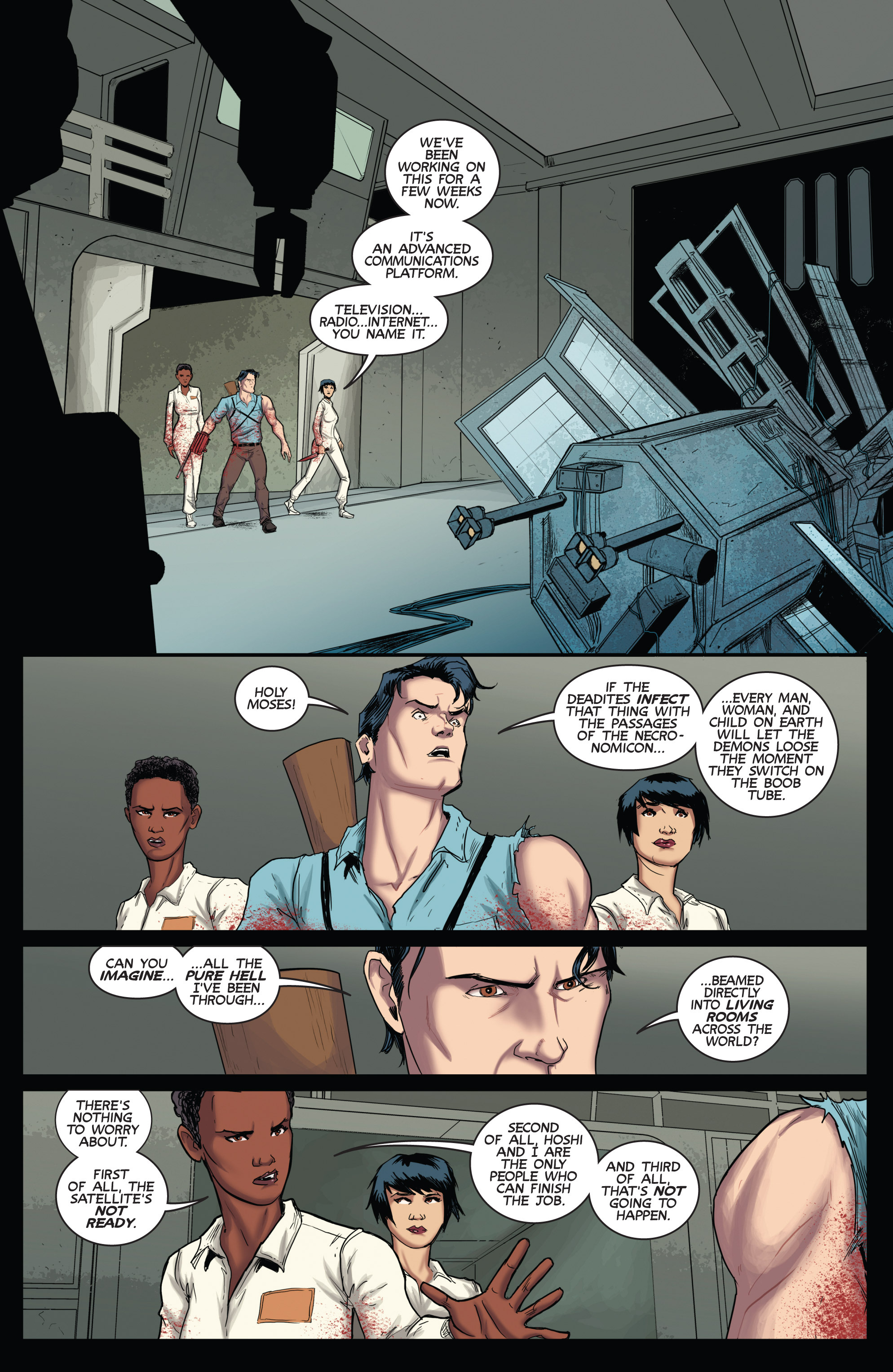 Read online Army of Darkness (2014) comic -  Issue #3 - 16