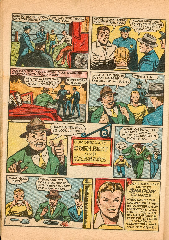 Read online Shadow Comics comic -  Issue #11 - 56