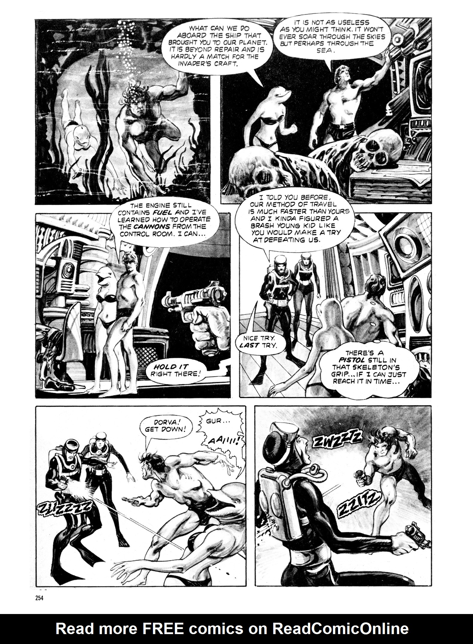 Read online Eerie Archives comic -  Issue # TPB 20 - 254