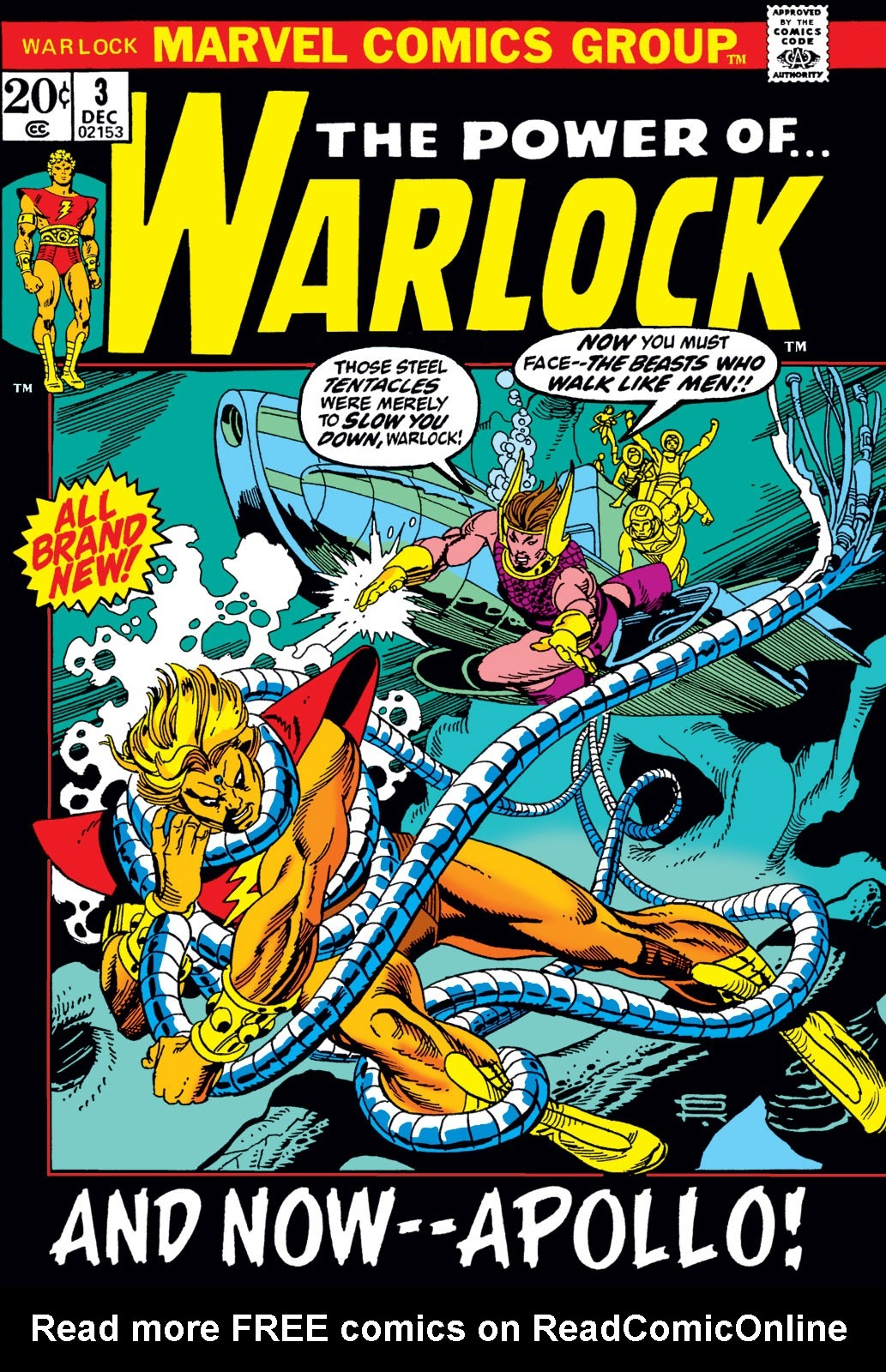 Warlock (1972) issue 3 - Page 1