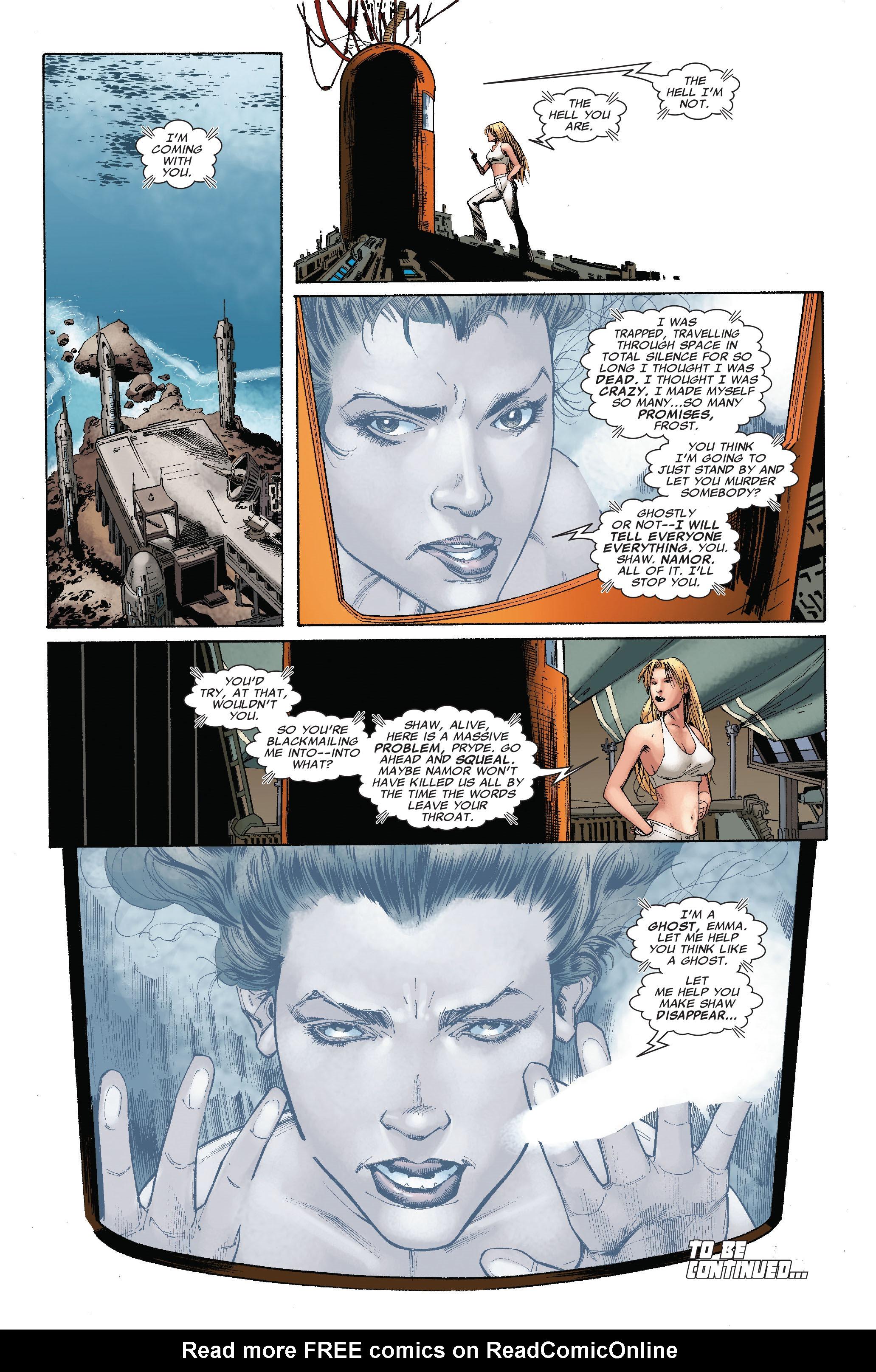 Read online Uncanny X-Men (1963) comic -  Issue #528 - 24