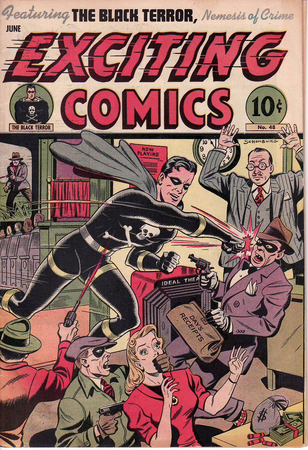 Exciting Comics (1940) 48 Page 1