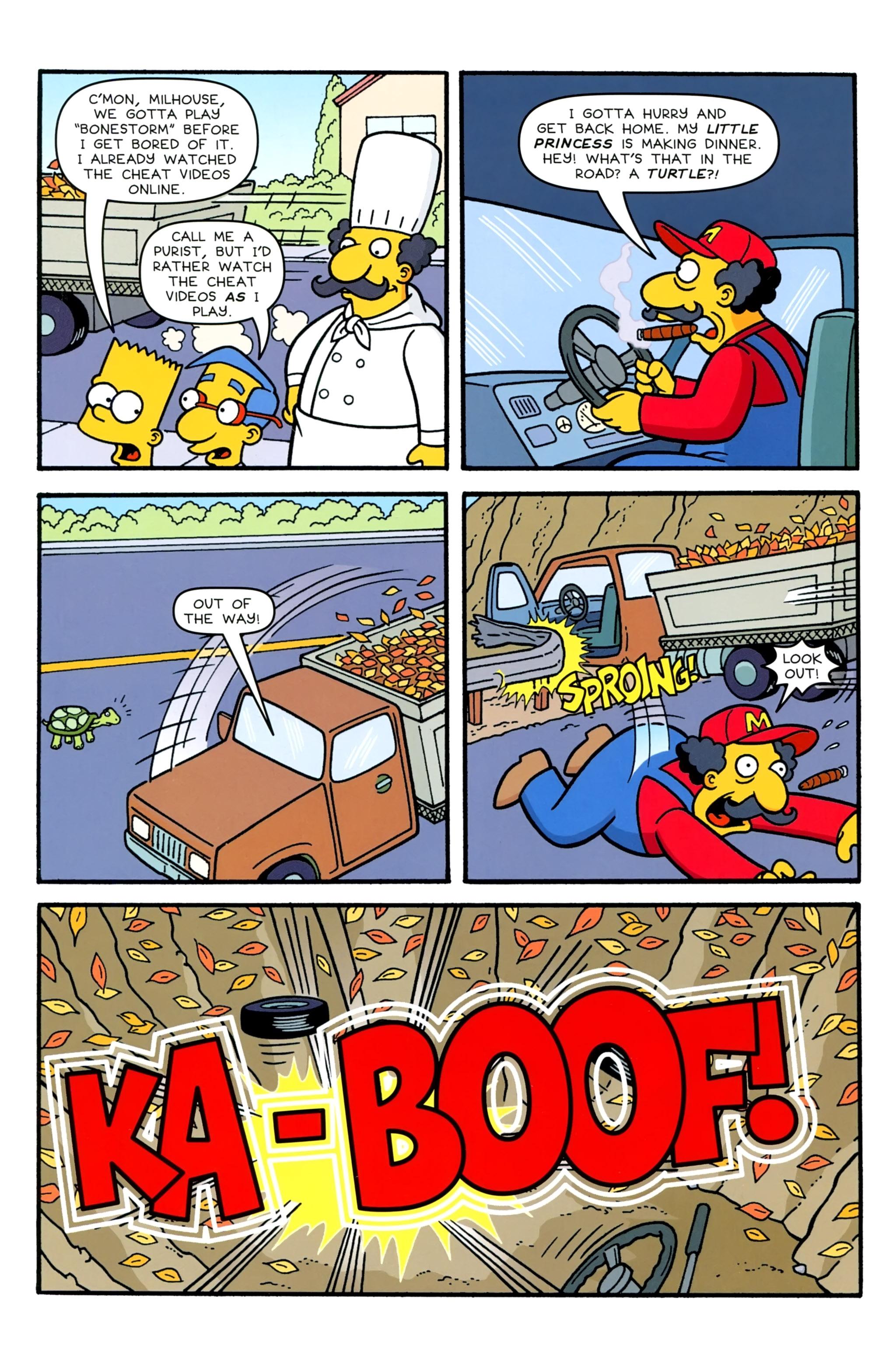 Read online Simpsons Comics comic -  Issue #231 - 10