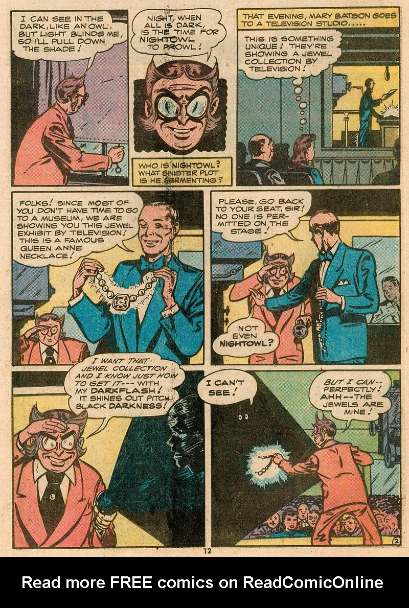 Read online Shazam! (1973) comic -  Issue #12 - 12