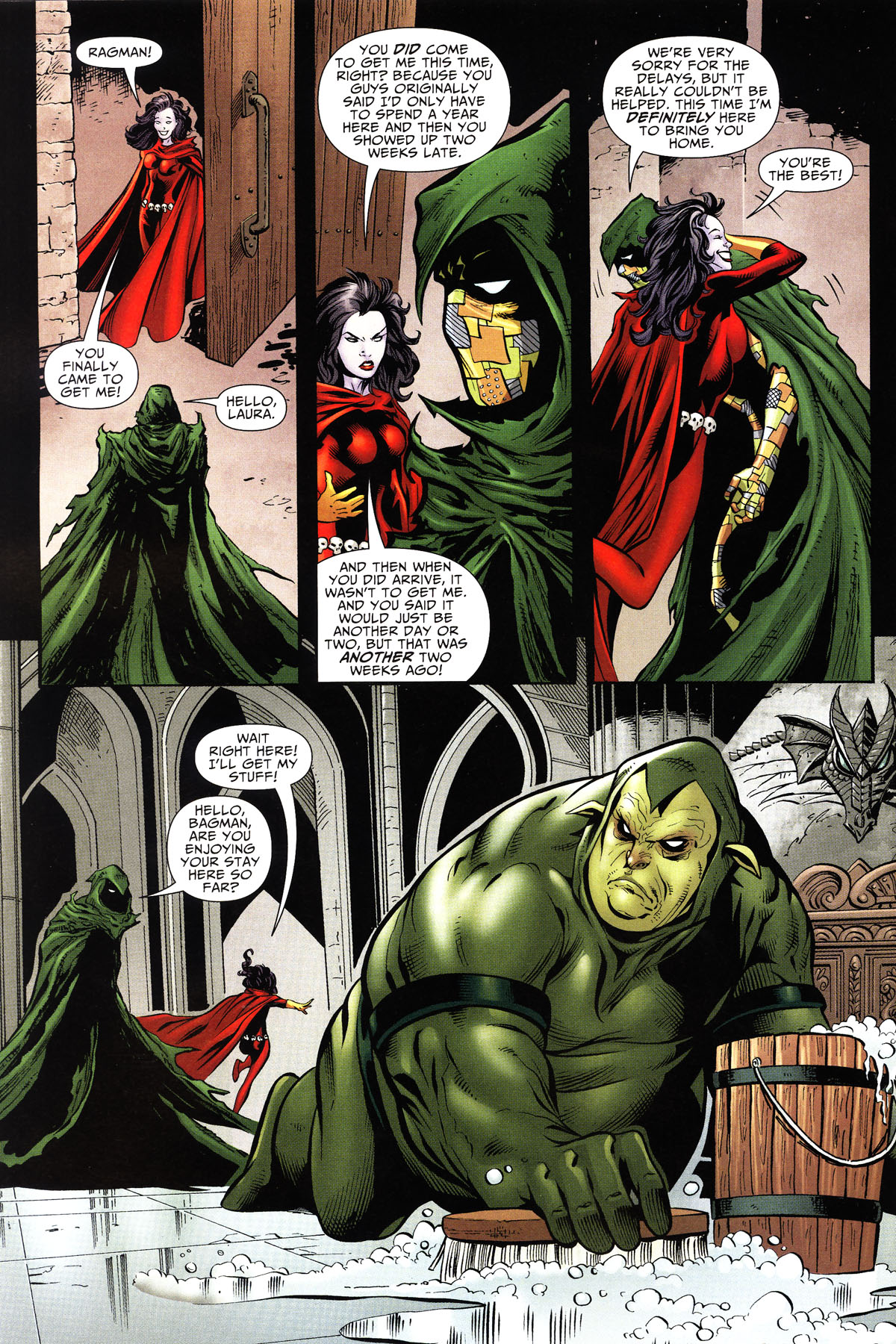 Read online Shadowpact comic -  Issue #10 - 3
