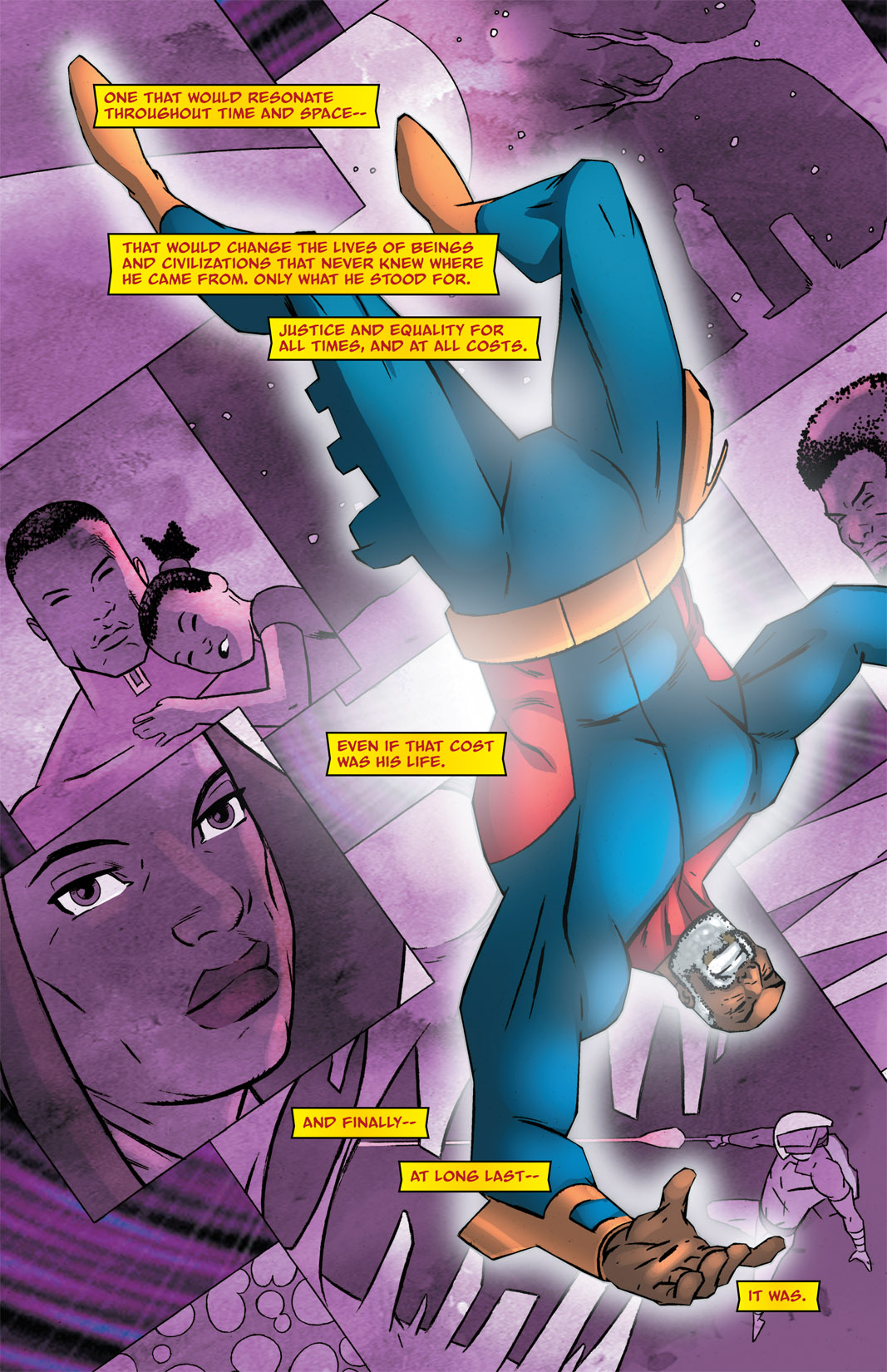 Read online The Many Adventures of Miranda Mercury: Time Runs Out comic -  Issue # TPB - 149