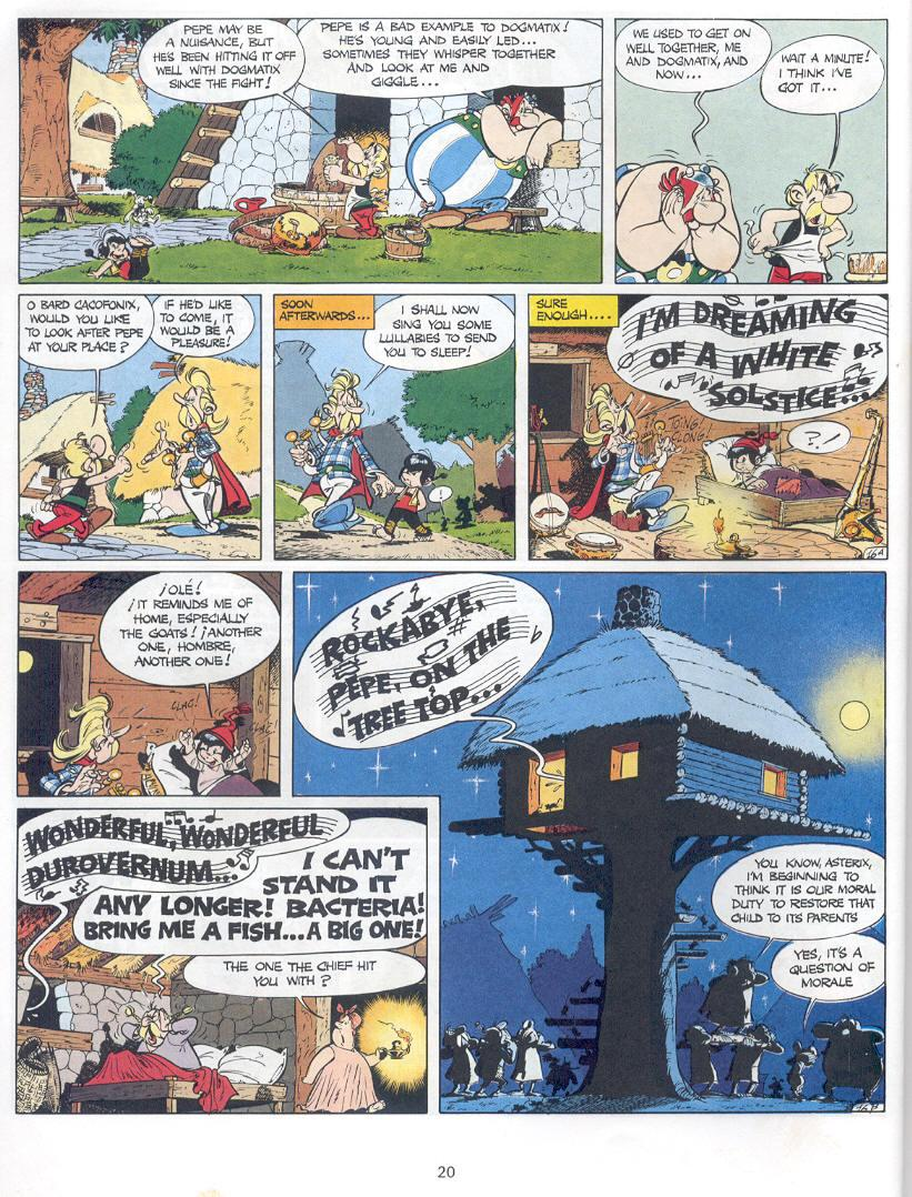 Read online Asterix comic -  Issue #14 - 17