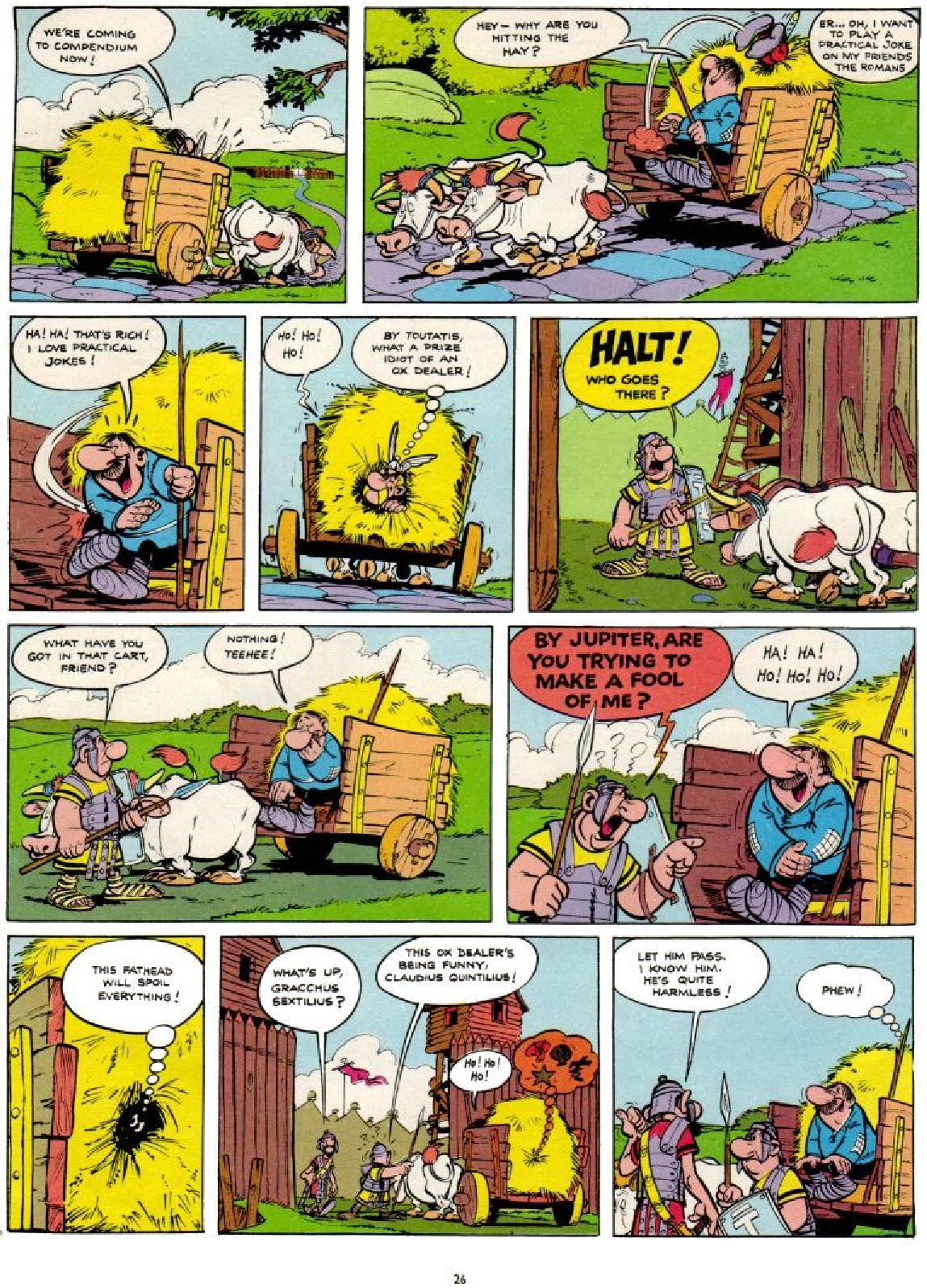 Read online Asterix comic -  Issue #1 - 26
