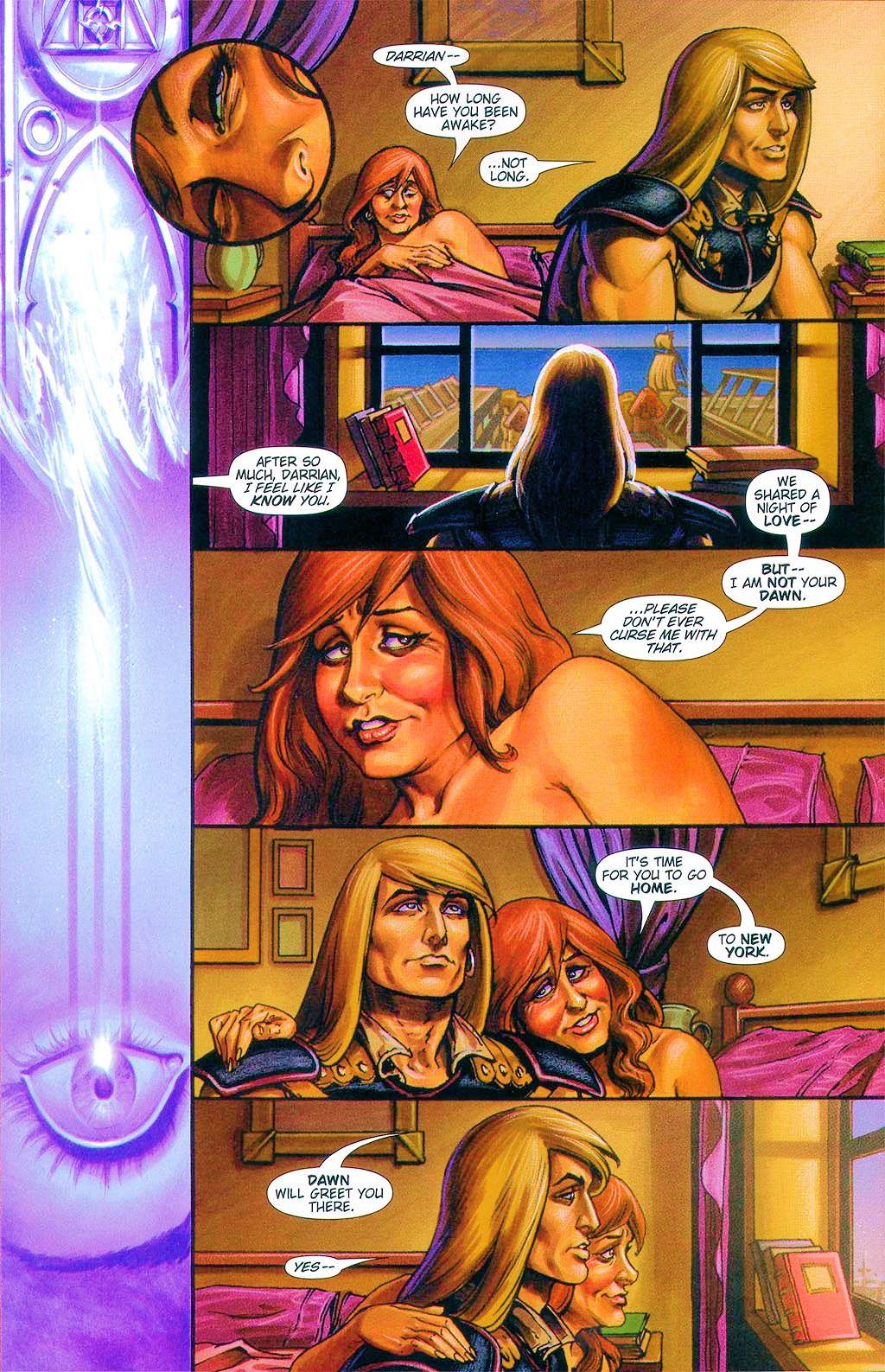 Read online Dawn: Three Tiers comic -  Issue #6 - 14