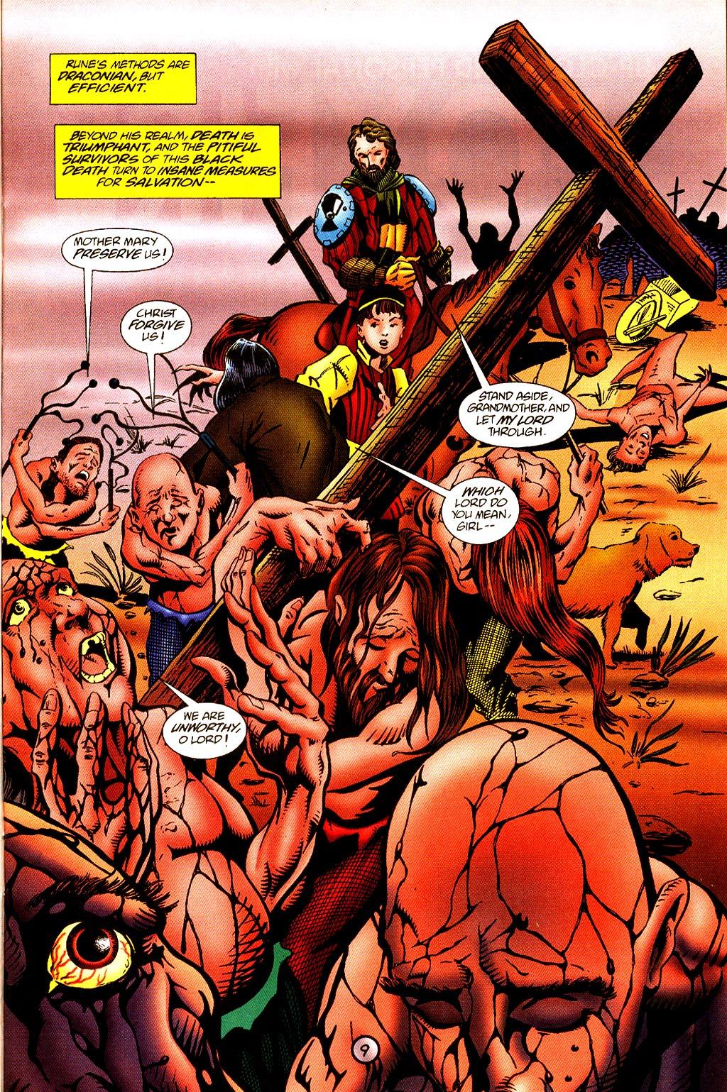 Read online Rune (1995) comic -  Issue #4 - 10