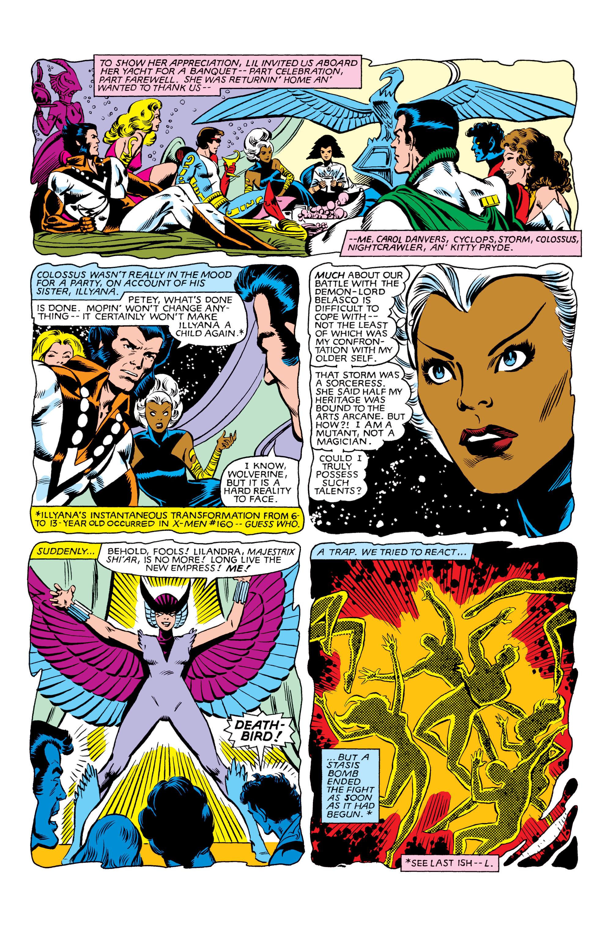 Read online Uncanny X-Men (1963) comic -  Issue #162 - 9