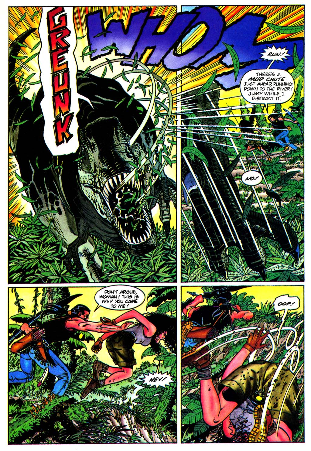 Read online Turok, Dinosaur Hunter (1993) comic -  Issue #28 - 15