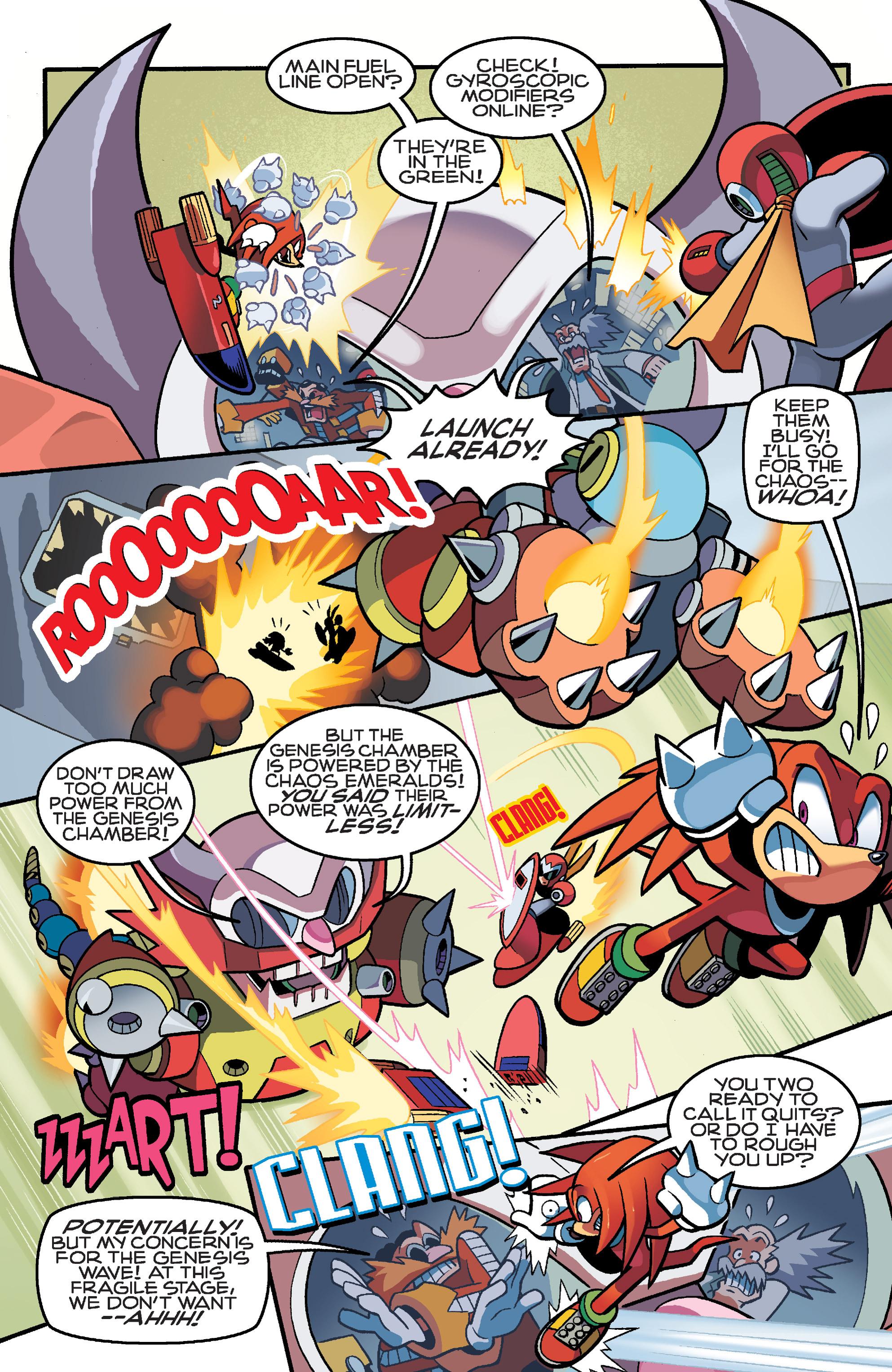 Read online Sonic Mega Man Worlds Collide comic -  Issue # Vol 3 - 104