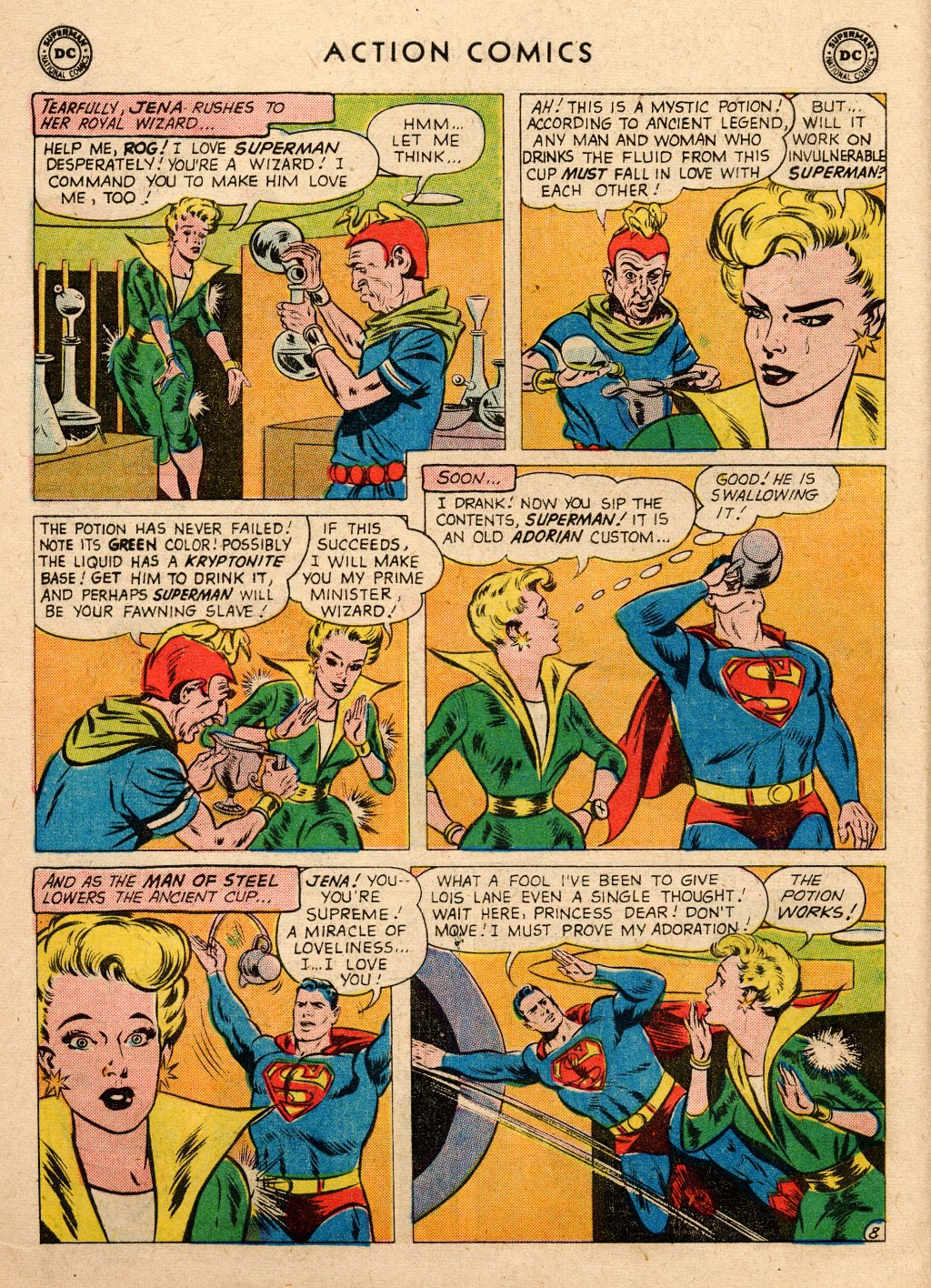 Read online Action Comics (1938) comic -  Issue #266 - 10
