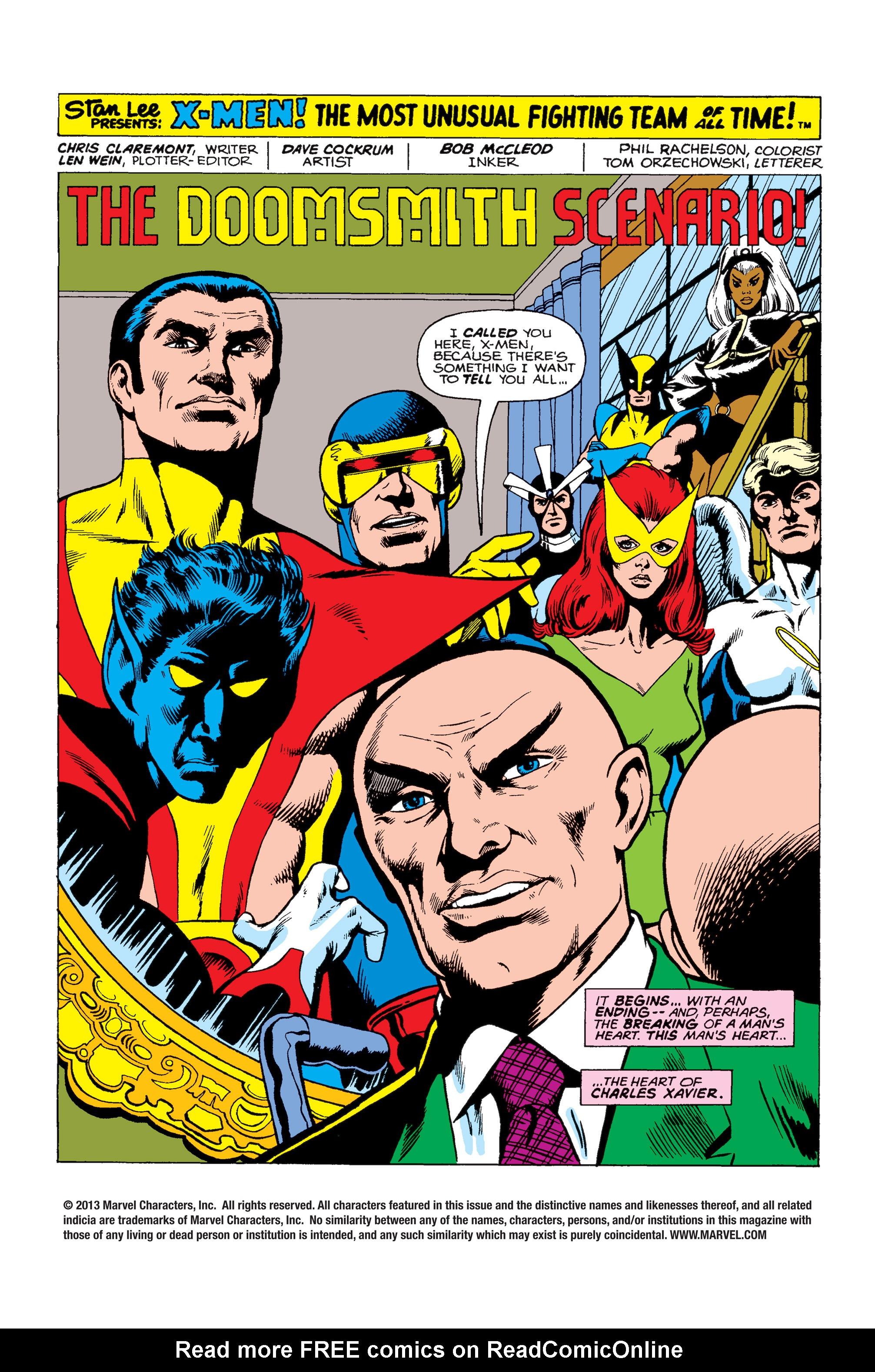 Uncanny X-Men (1963) 94 Page 1