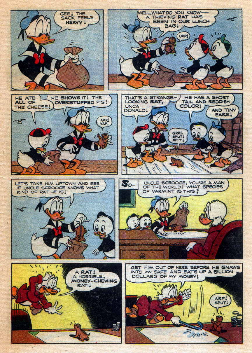 Read online Uncle Scrooge (1953) comic -  Issue #9 - 5