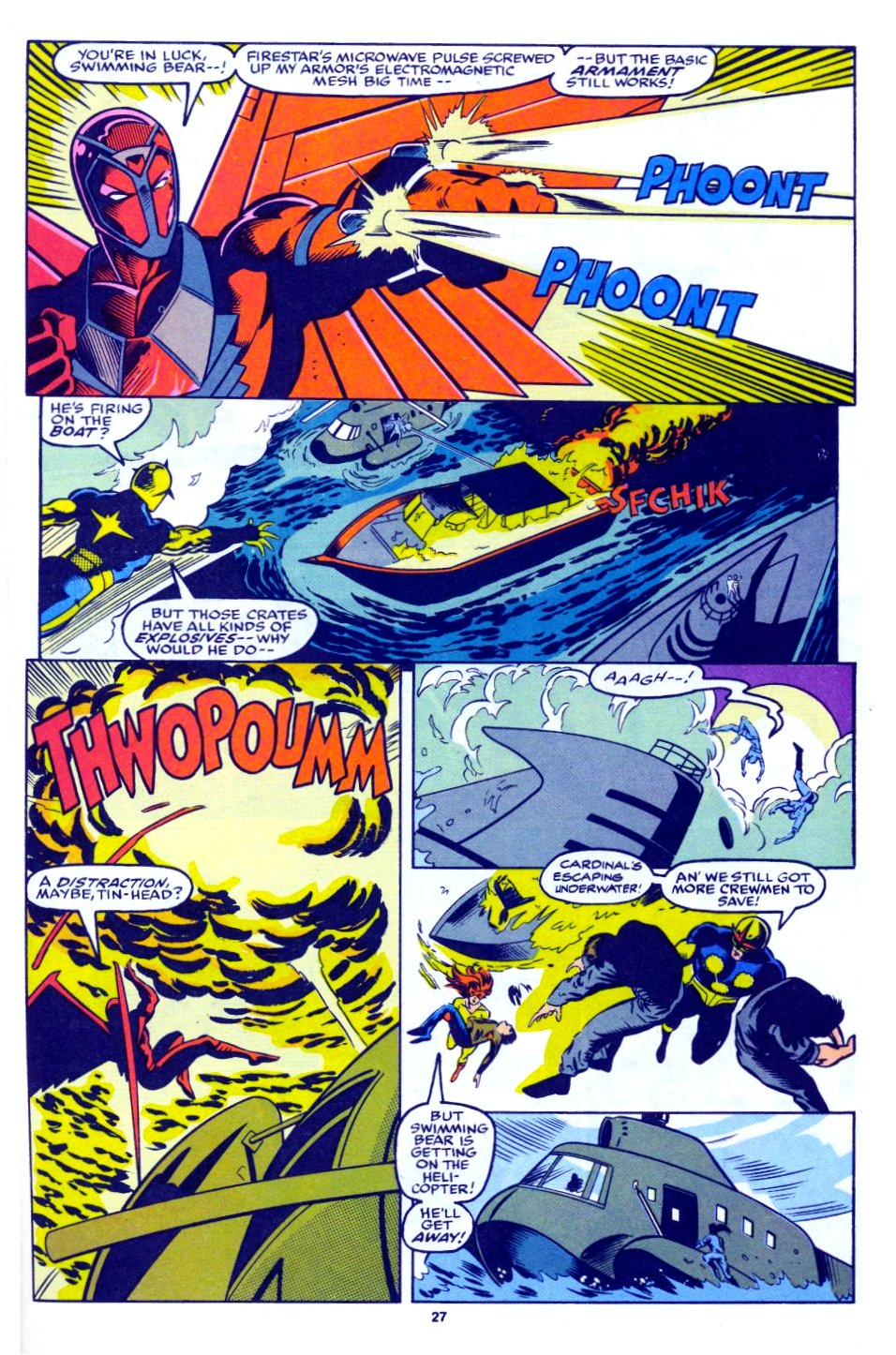 The New Warriors Issue #28 #32 - English 20