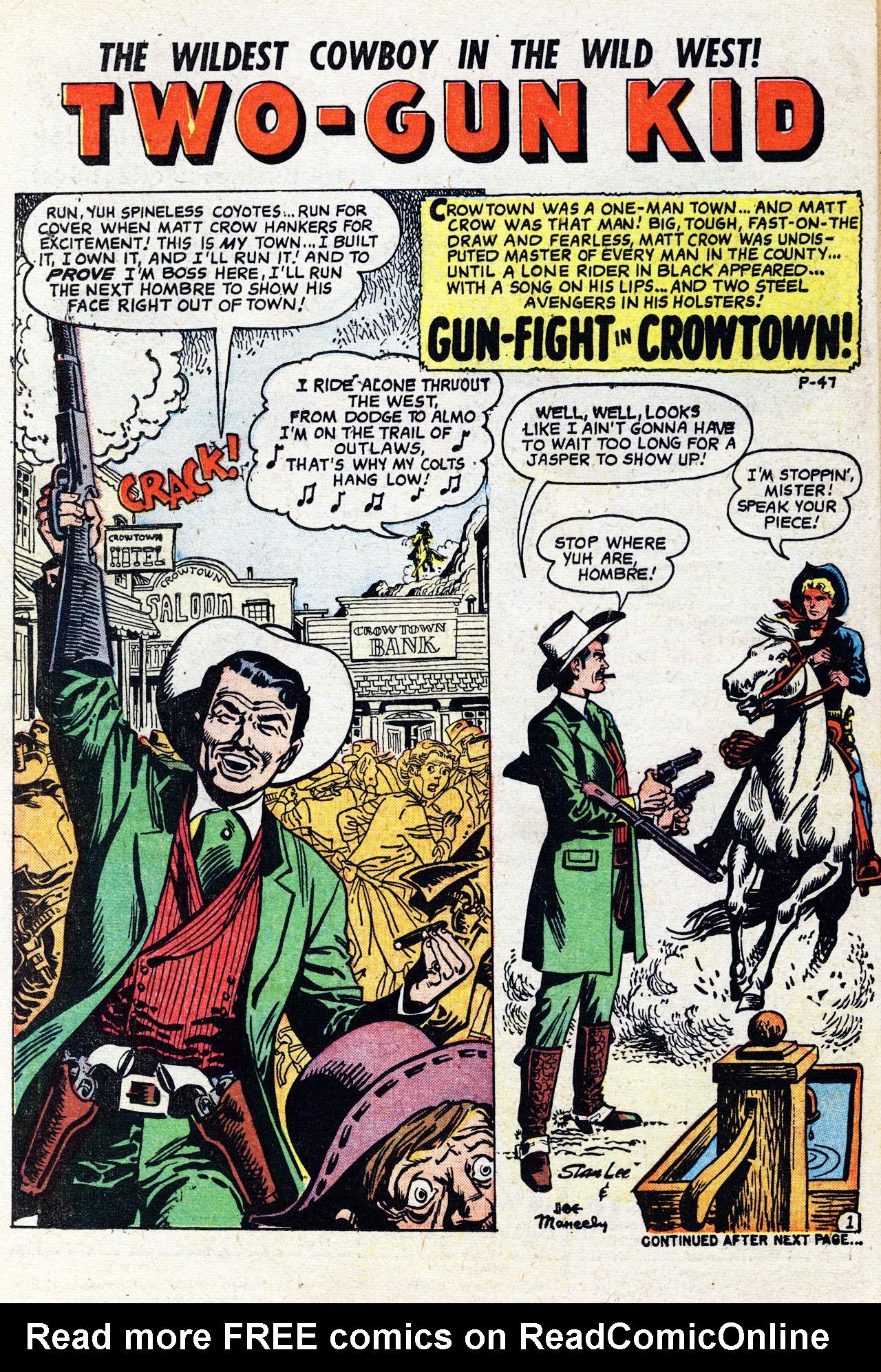 Read online Two-Gun Kid comic -  Issue #41 - 26