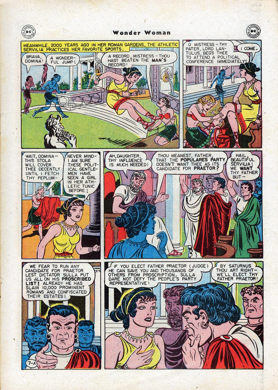 Read online Wonder Woman (1942) comic -  Issue #17 - 9