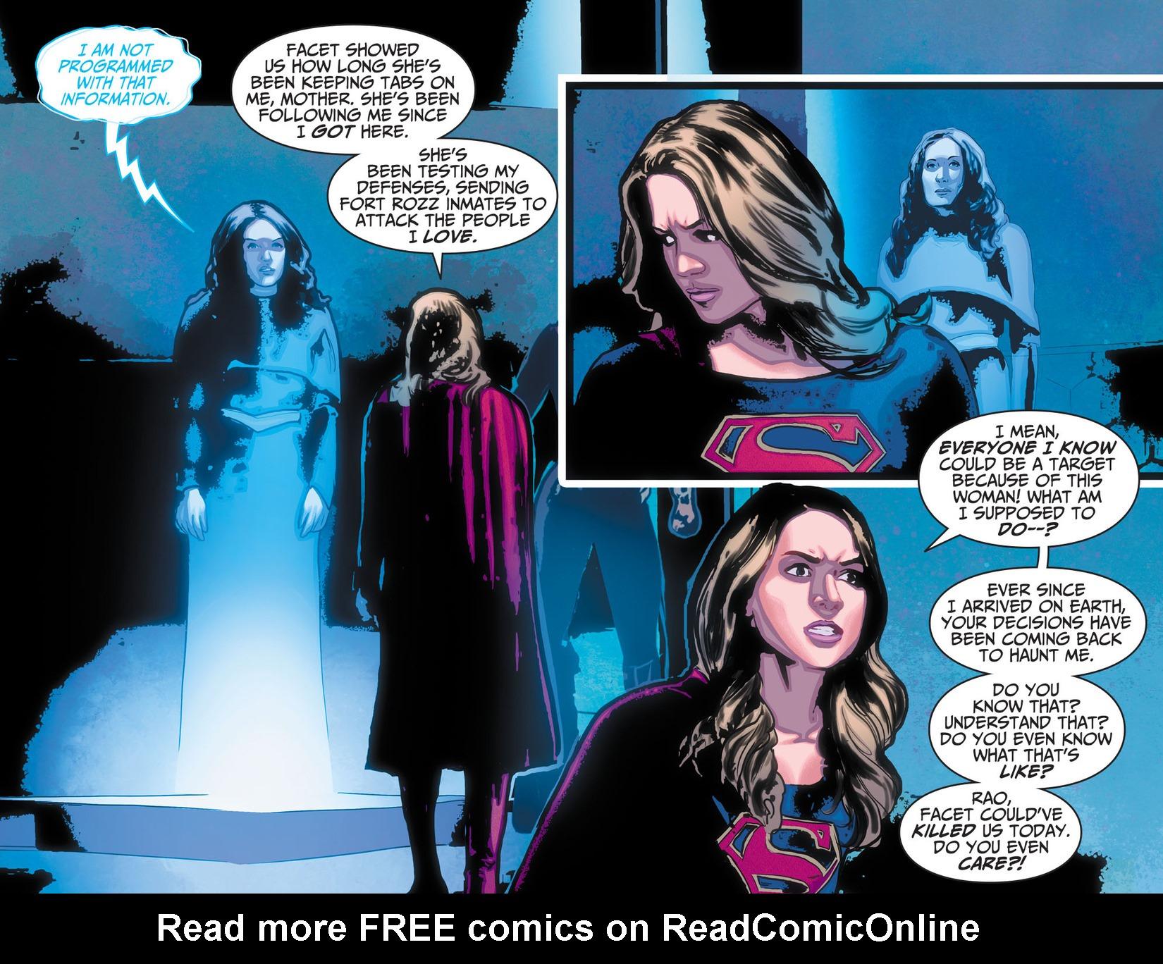 Read online Adventures of Supergirl comic -  Issue #10 - 19