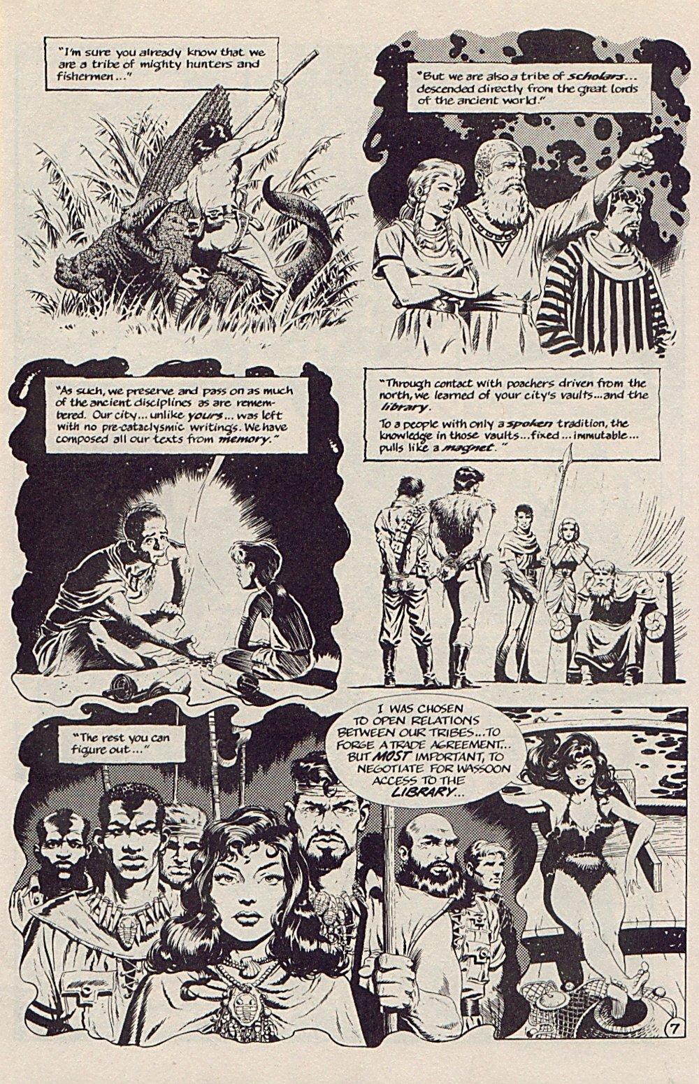 Read online Xenozoic Tales comic -  Issue #5 - 10