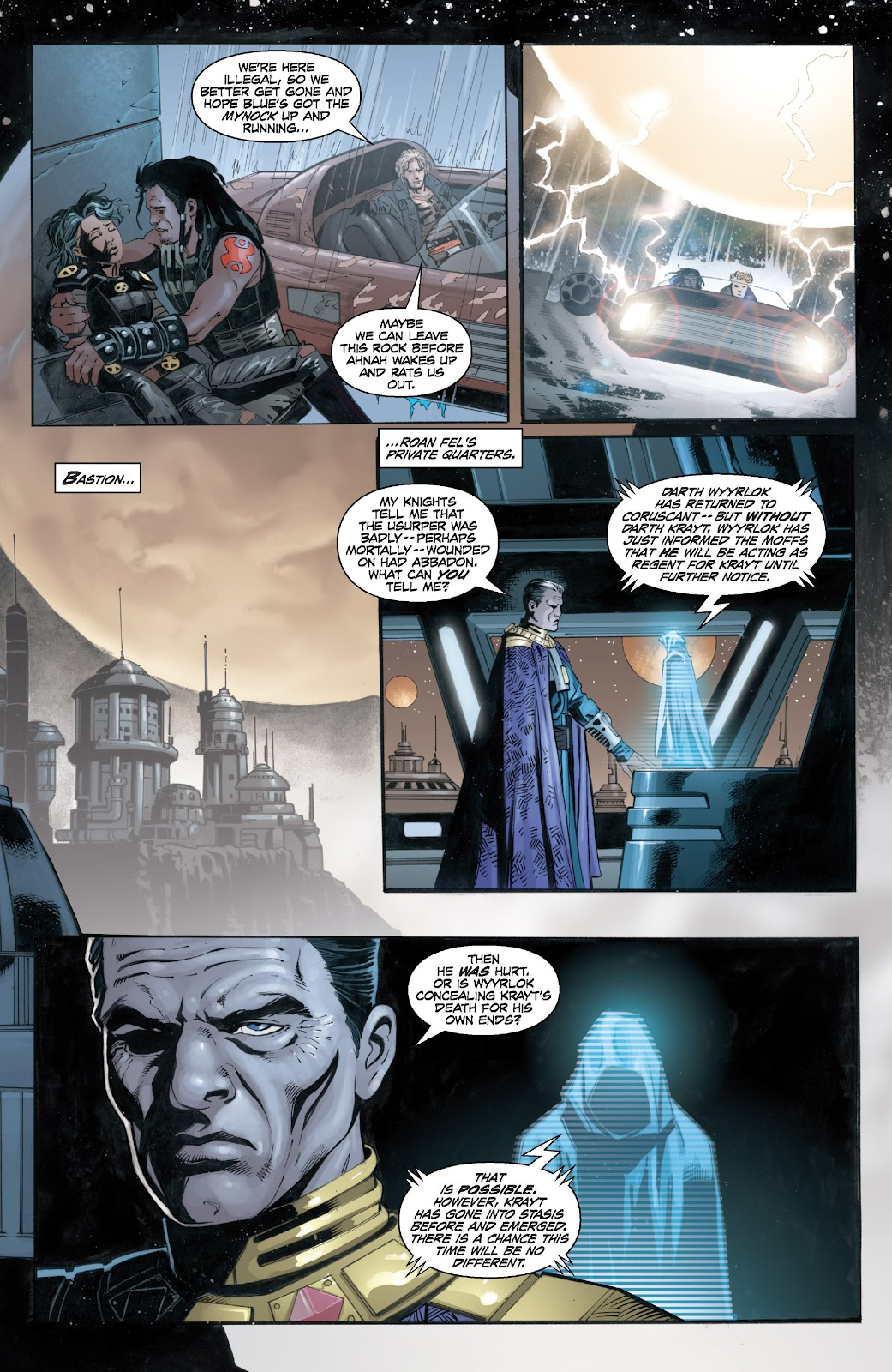 Read online Star Wars Legends: Legacy - Epic Collection comic -  Issue # TPB 2 (Part 4) - 79