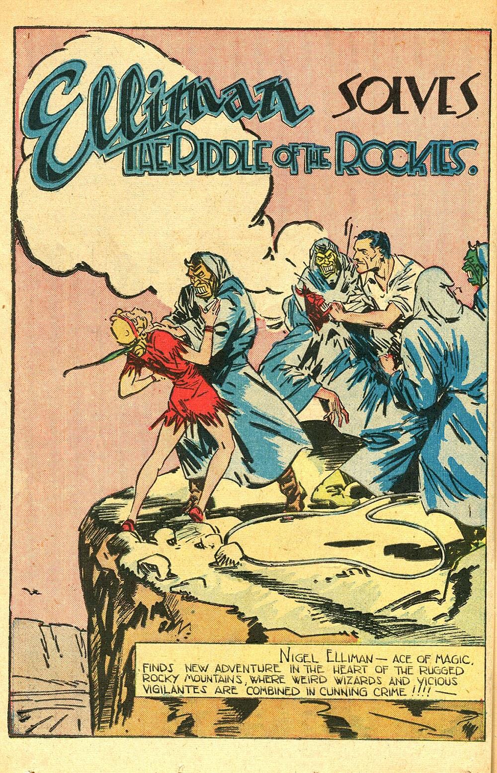 Read online Super-Magician Comics comic -  Issue #56 - 36