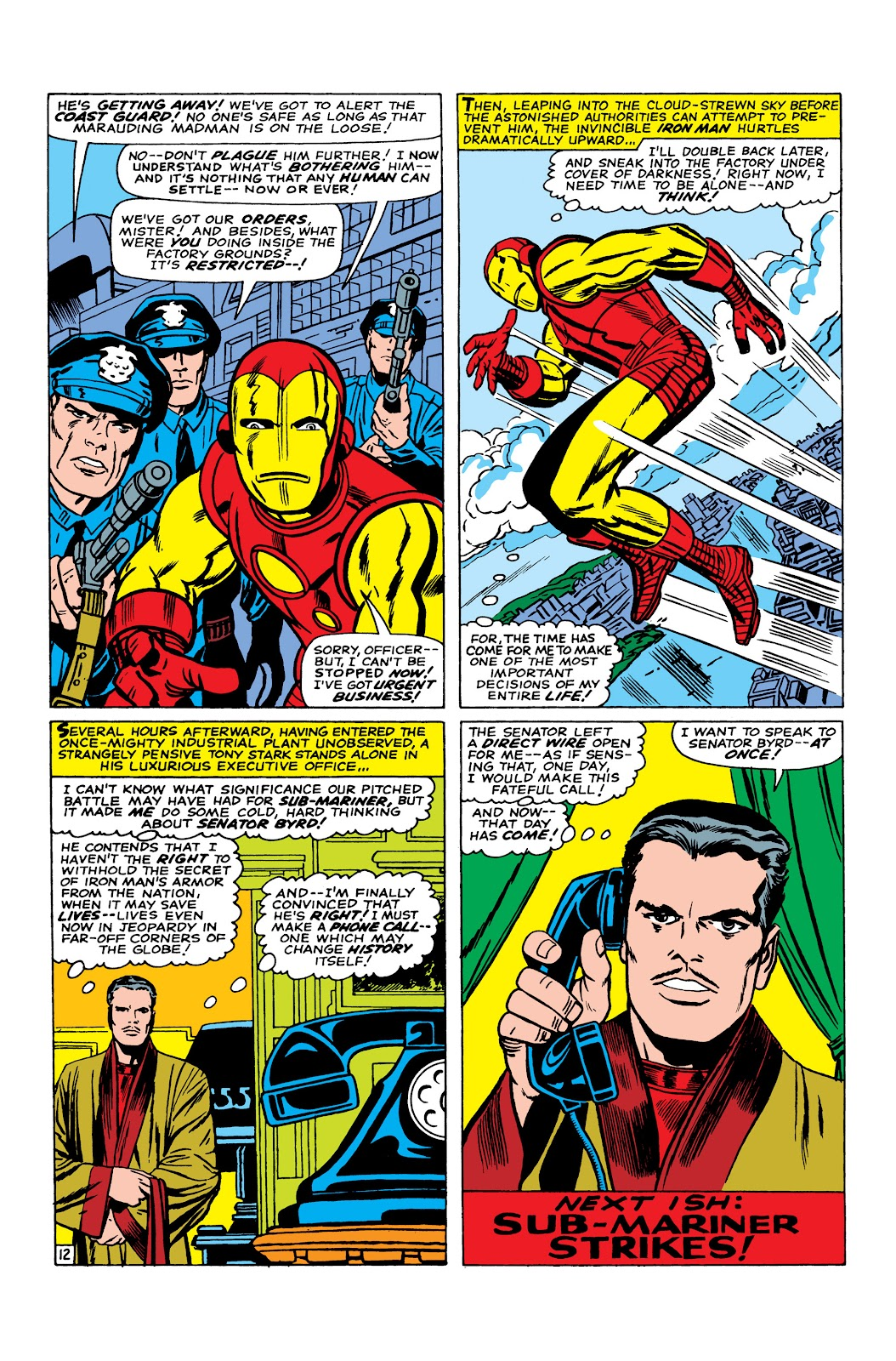Read online Marvel Masterworks: The Invincible Iron Man comic -  Issue # TPB 3 (Part 5) - 29