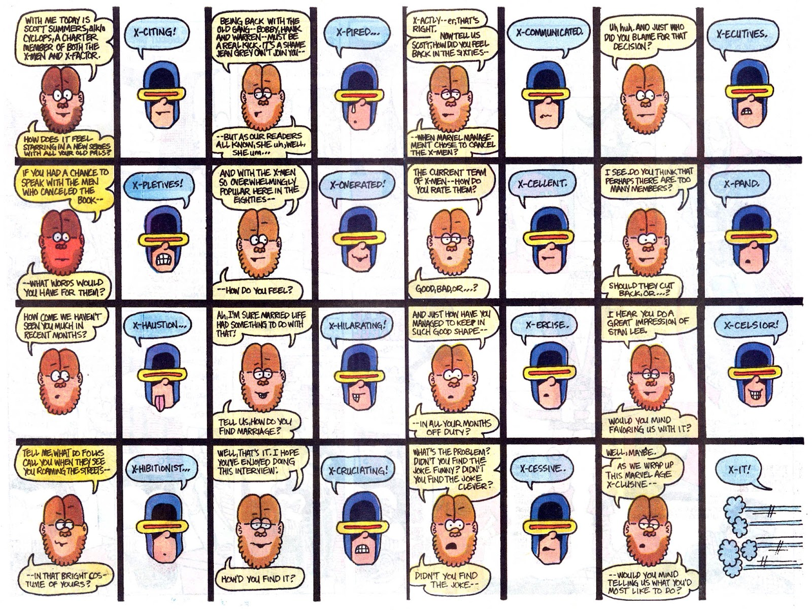 Fred Hembeck Sells the Marvel Universe issue Full - Page 5