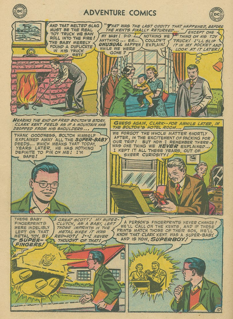 Read online Adventure Comics (1938) comic -  Issue #221 - 11