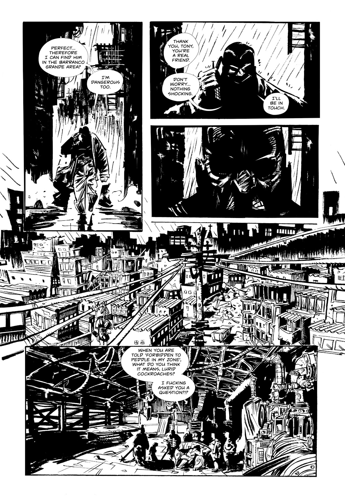 Read online Wrath of God comic -  Issue #1 - 12