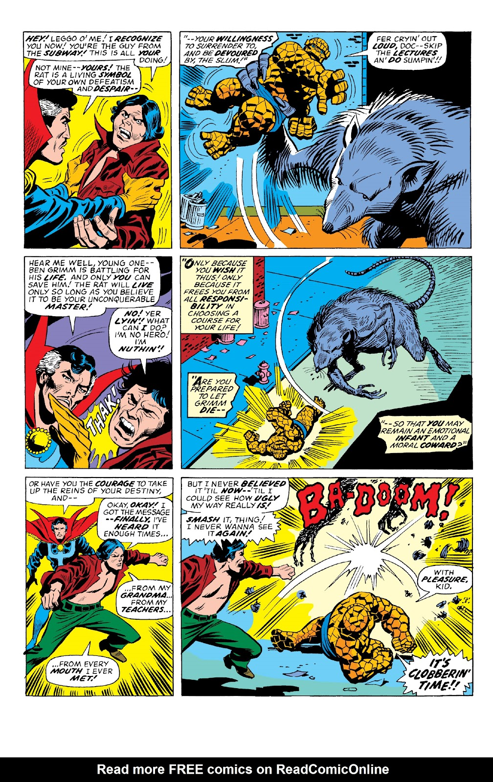 Read online Marvel Two-In-One Epic Collection: Cry Monster comic -  Issue # TPB (Part 2) - 59