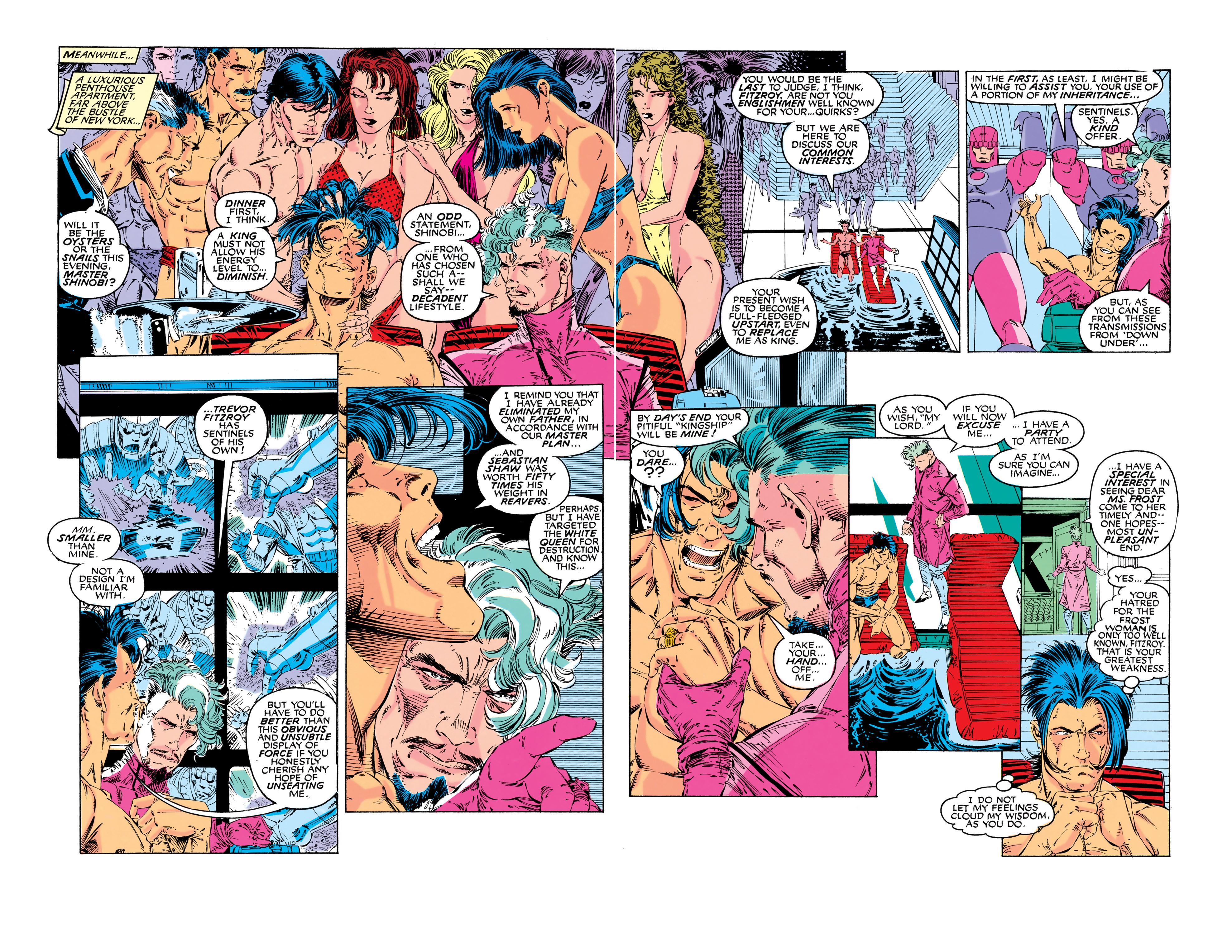 Read online Uncanny X-Men (1963) comic -  Issue #281 - 7